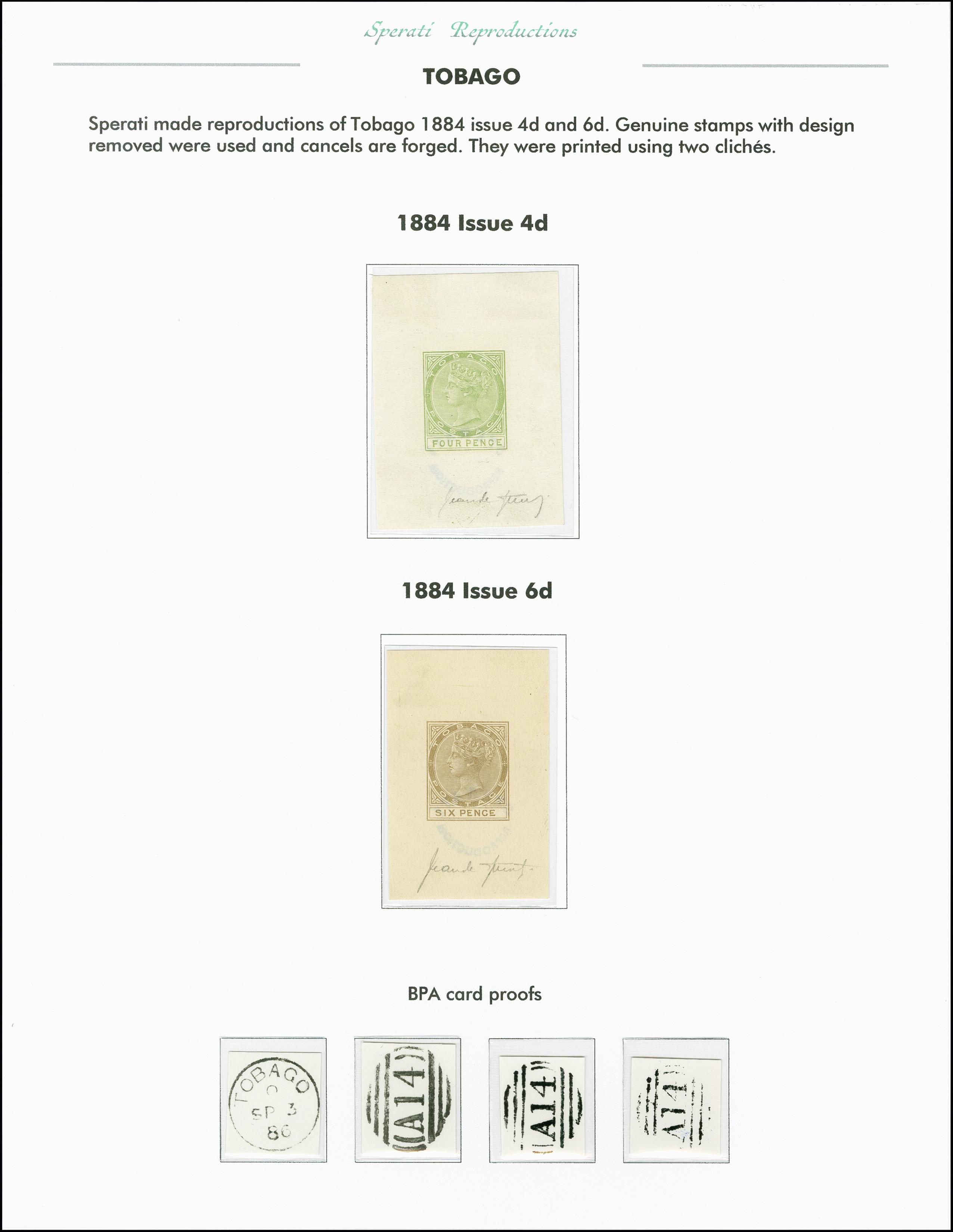 Lot 2269 - Britisch Commonwealth trinidad and tobago -  Heinrich Koehler Auktionen 375rd Heinrich Köhler auction - Day 1