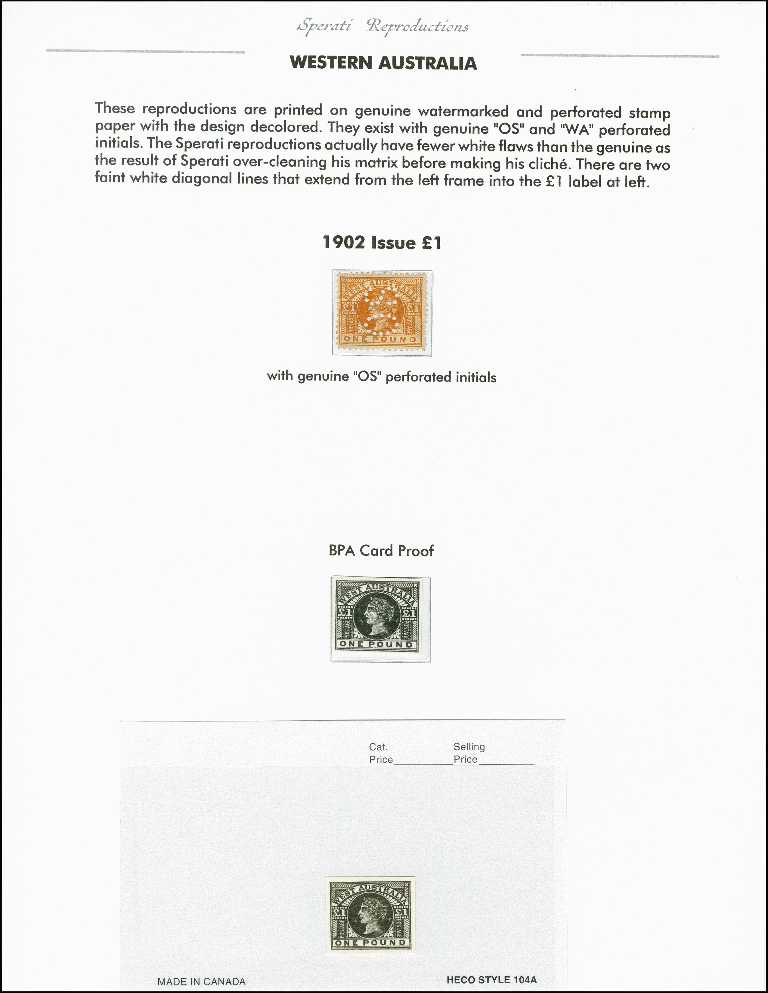Lot 2242 - Australia western australia -  Heinrich Koehler Auktionen 375rd Heinrich Köhler auction - Day 1