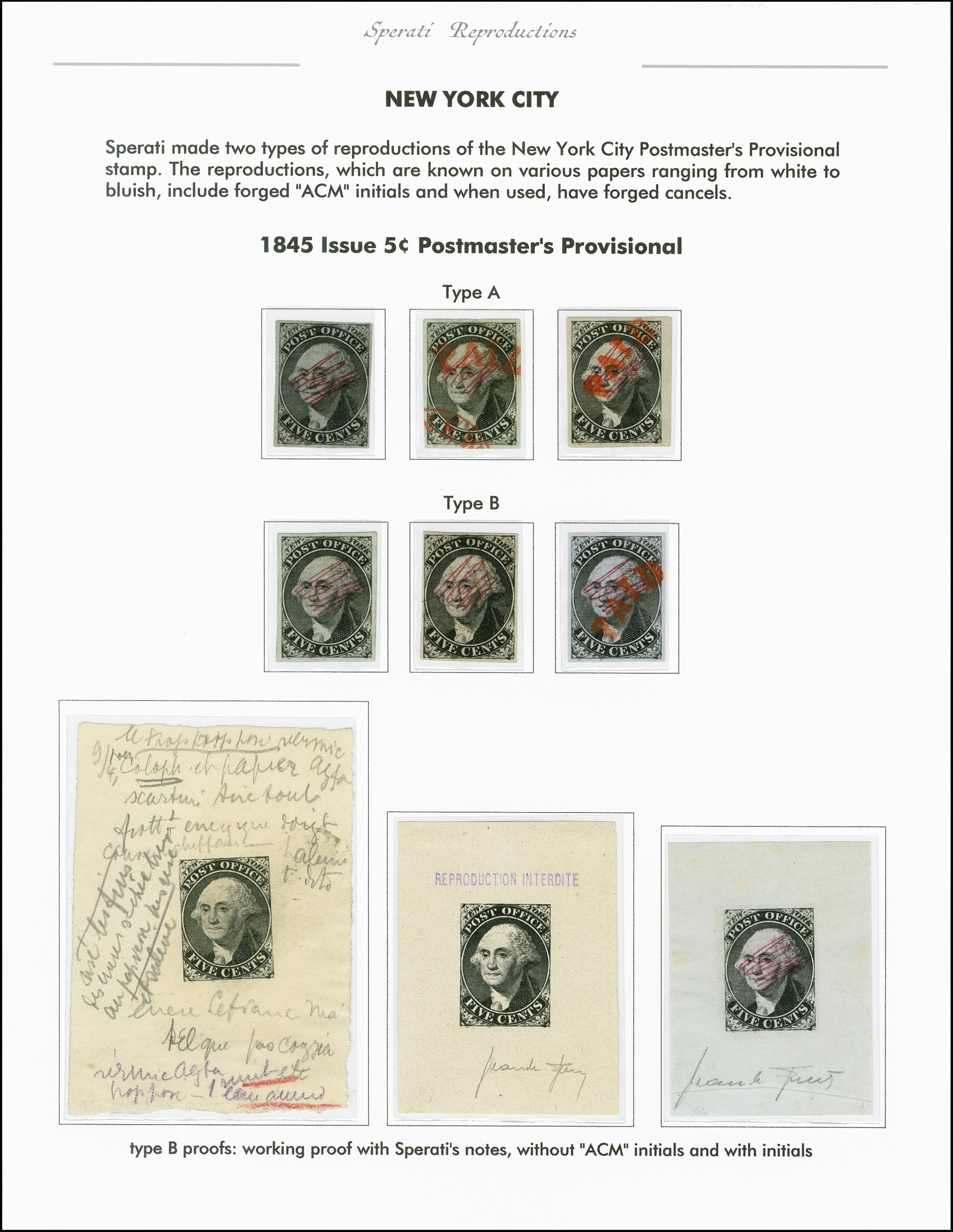 Lot 2235 - übersee Postmaster Provisionals -  Heinrich Koehler Auktionen 375rd Heinrich Köhler auction - Day 1