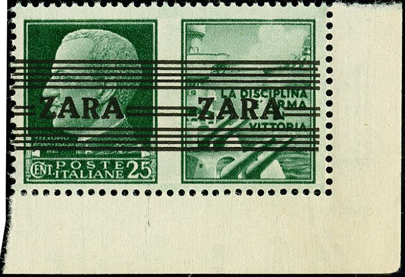 Lot 3407 - Deutsche Besetzungsausgaben 1939/45 zara -  Heinrich Koehler Auktionen 375rd Heinrich Köhler auction - Day 2