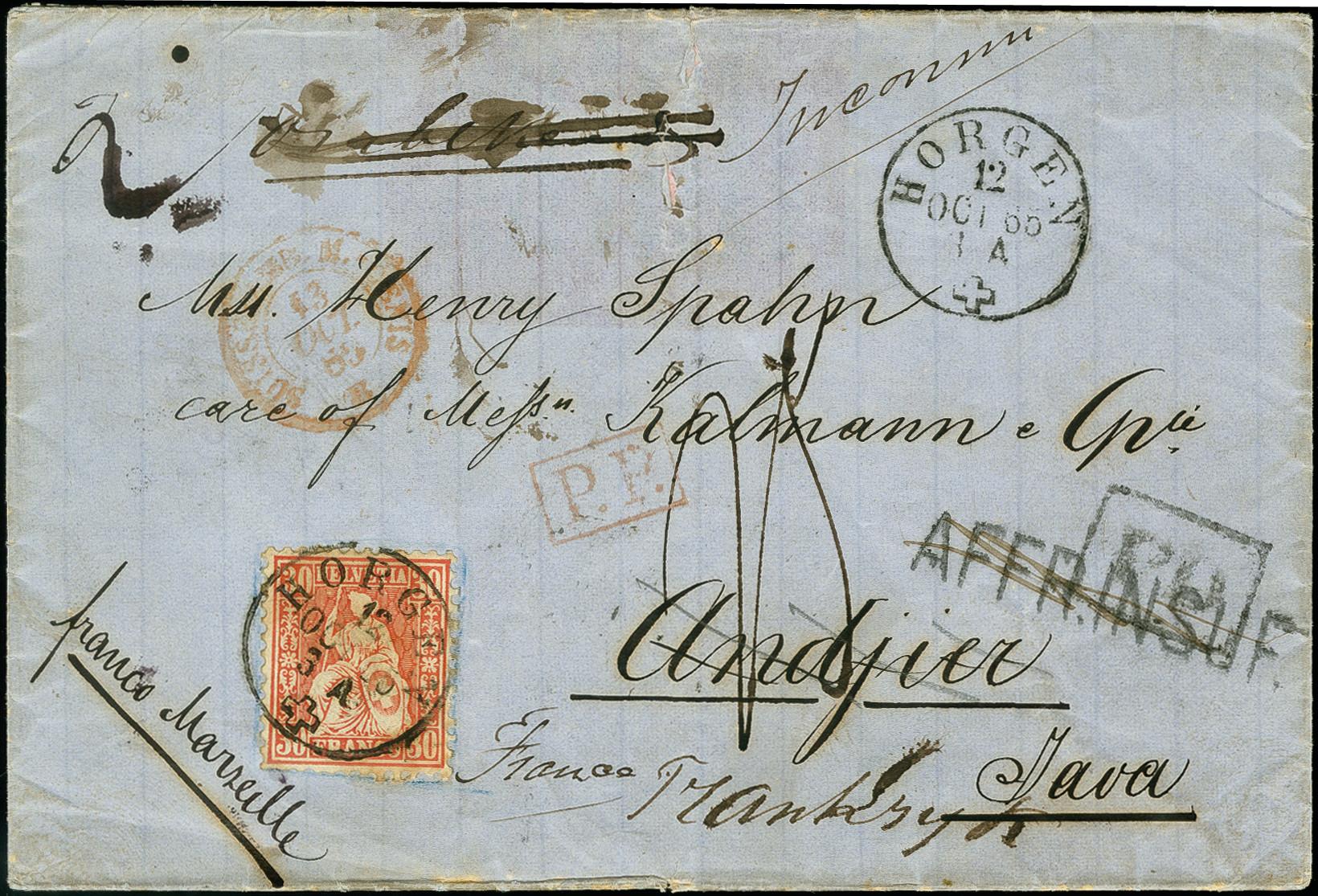 Lot 1128 - schweiz swiss federal post -  Heinrich Koehler Auktionen 375rd Heinrich Köhler auction - Day 1