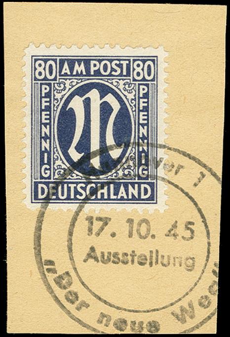 Lot 4161 - deutschland nach 1945 bizone -  Heinrich Koehler Auktionen 375rd Heinrich Köhler auction - Day 3