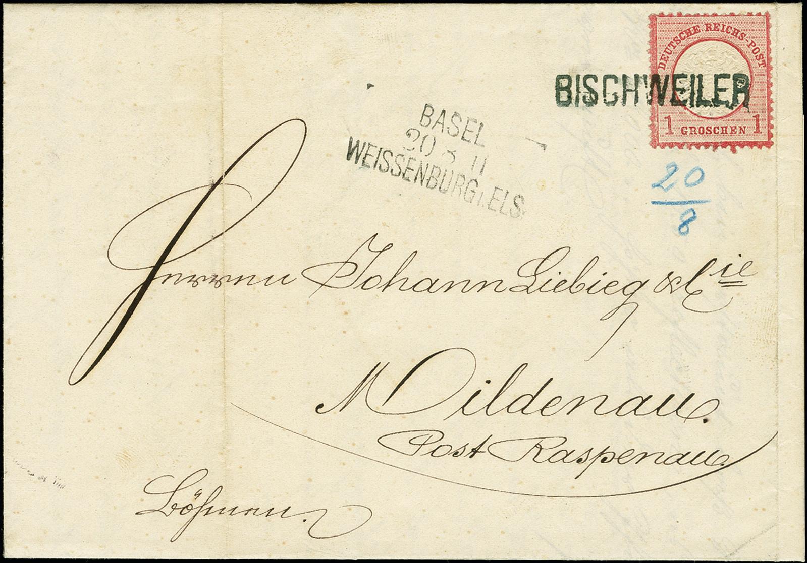 Lot 2446 - Main catalogue German Empire -  Heinrich Koehler Auktionen 375rd Heinrich Köhler auction - Day 2