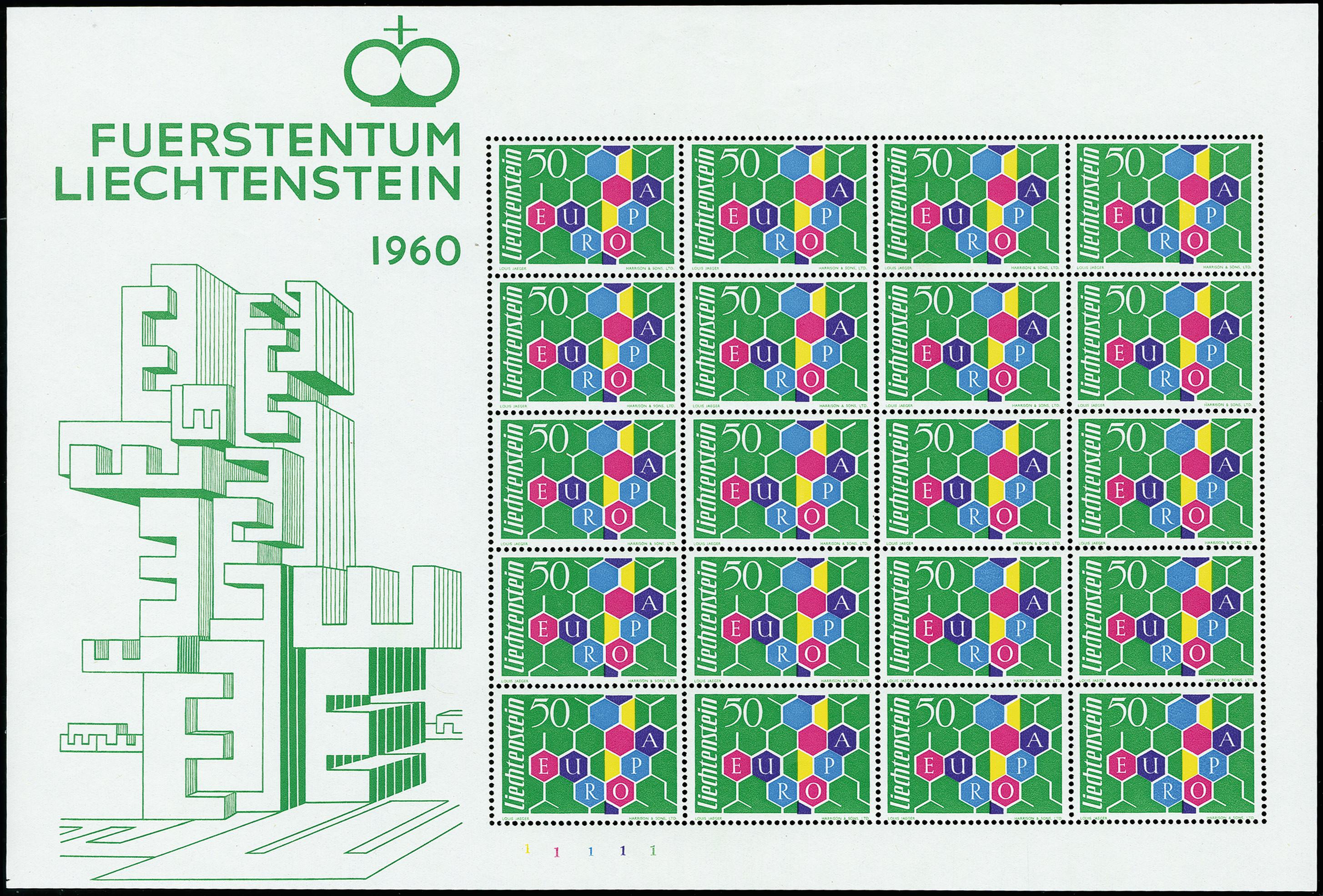 Lot 1002 - europa Liechtenstein -  Heinrich Koehler Auktionen 375rd Heinrich Köhler auction - Day 1
