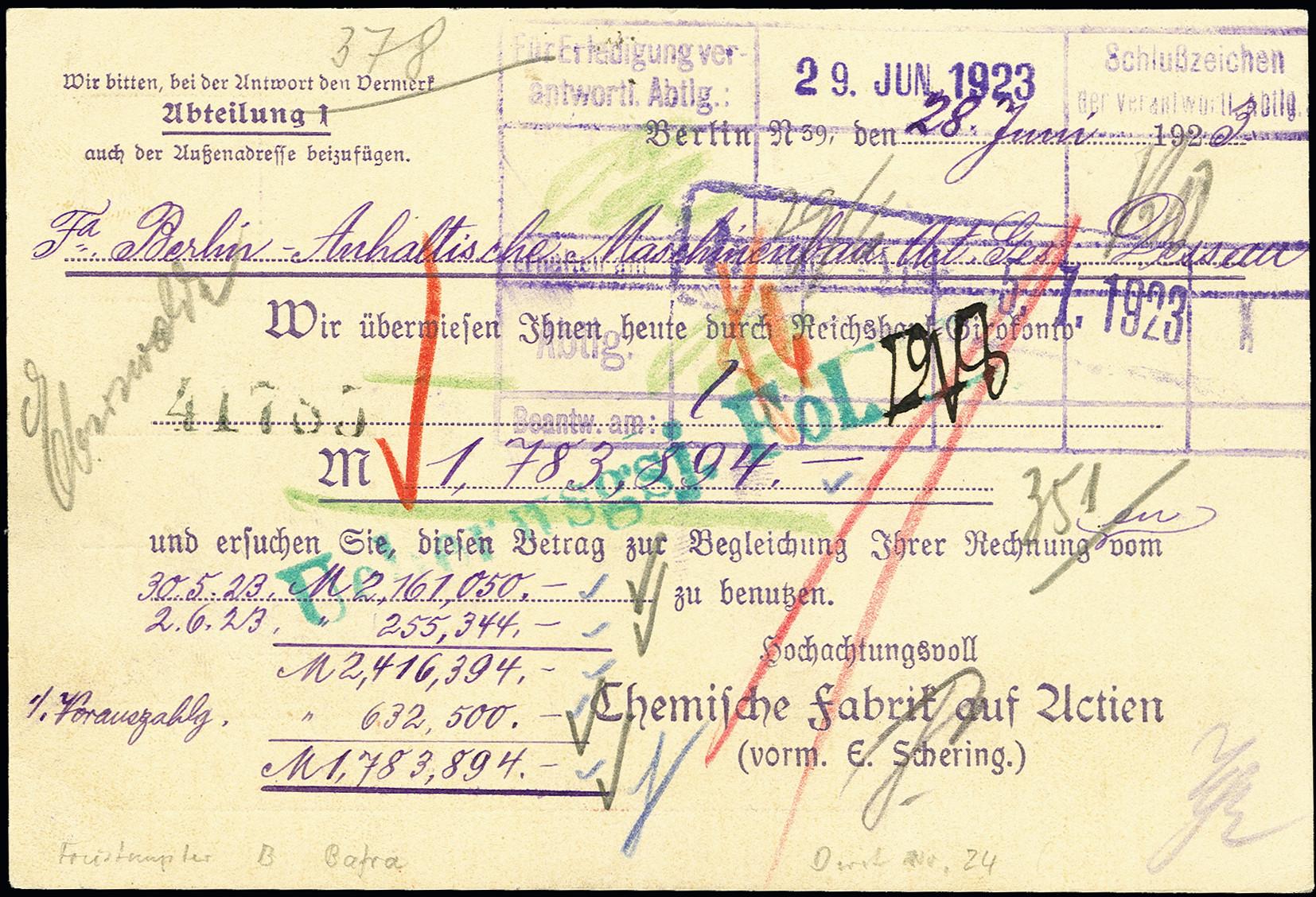 Lot 2657 - Main catalogue German Empire -  Heinrich Koehler Auktionen 375rd Heinrich Köhler auction - Day 2