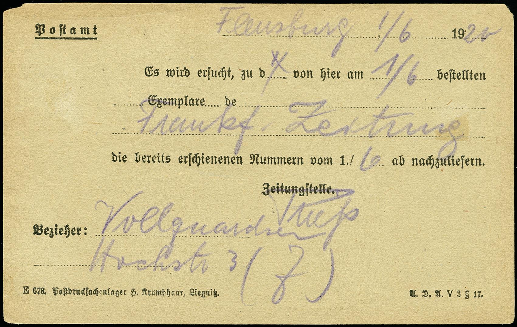 Lot 3179 - deutsche abstimmungsgebiete schleswig -  Heinrich Koehler Auktionen 375rd Heinrich Köhler auction - Day 2