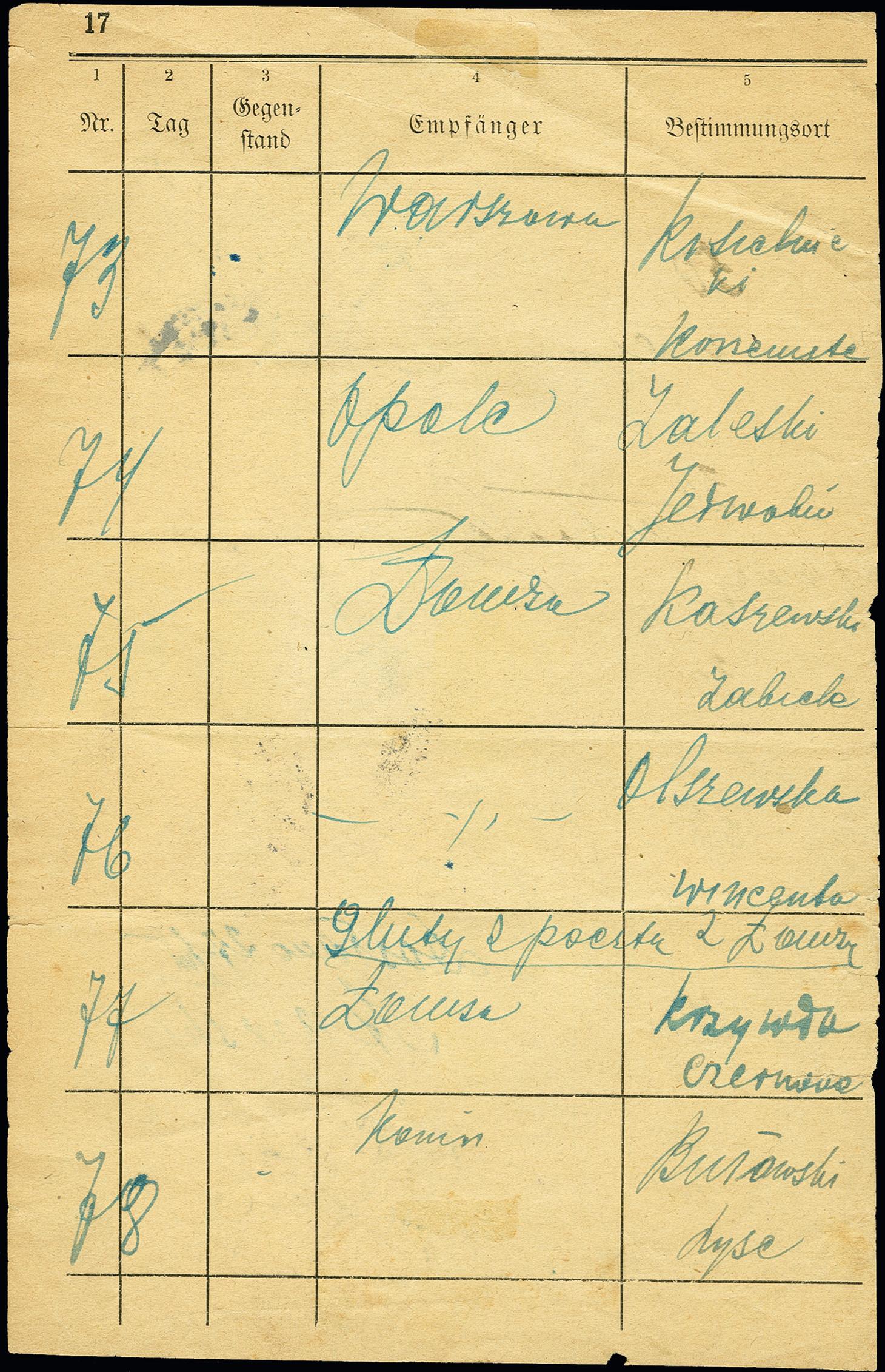 Lot 1742 - europa Poland -  Heinrich Koehler Auktionen 375rd Heinrich Köhler auction - Day 1