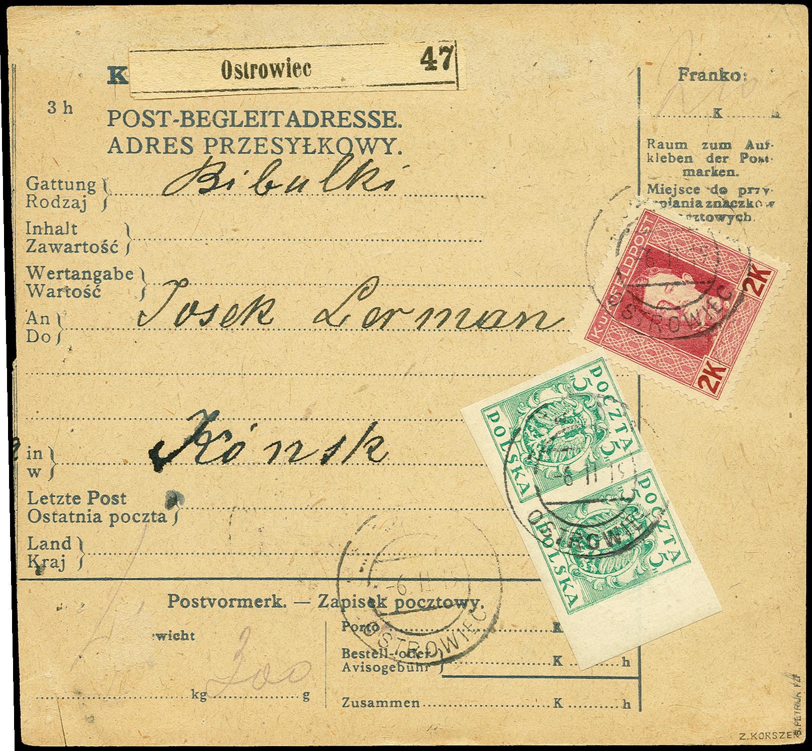 Lot 1749 - europa Poland -  Heinrich Koehler Auktionen 375rd Heinrich Köhler auction - Day 1
