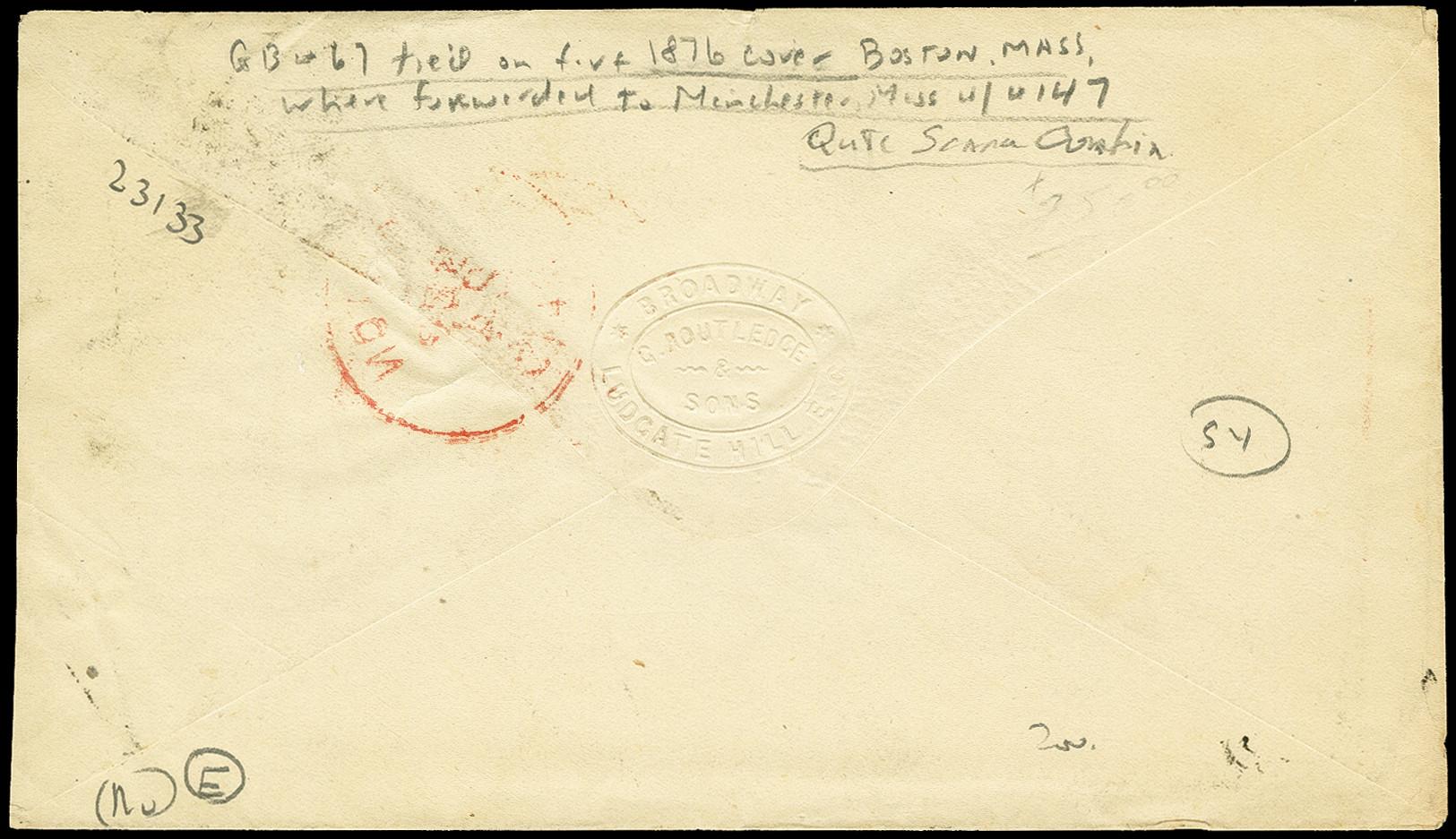 Lot 2176 - übersee United States of America -  Heinrich Koehler Auktionen 375rd Heinrich Köhler auction - Day 1