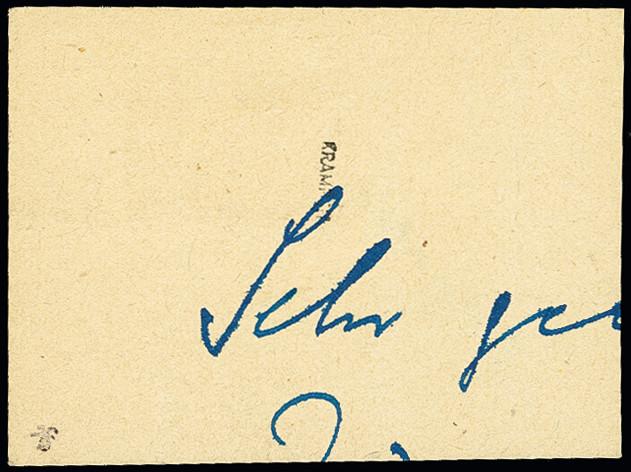 Lot 3447 - deutsche lokalausgaben ab 1945 altentreptow -  Heinrich Koehler Auktionen 375rd Heinrich Köhler auction - Day 3