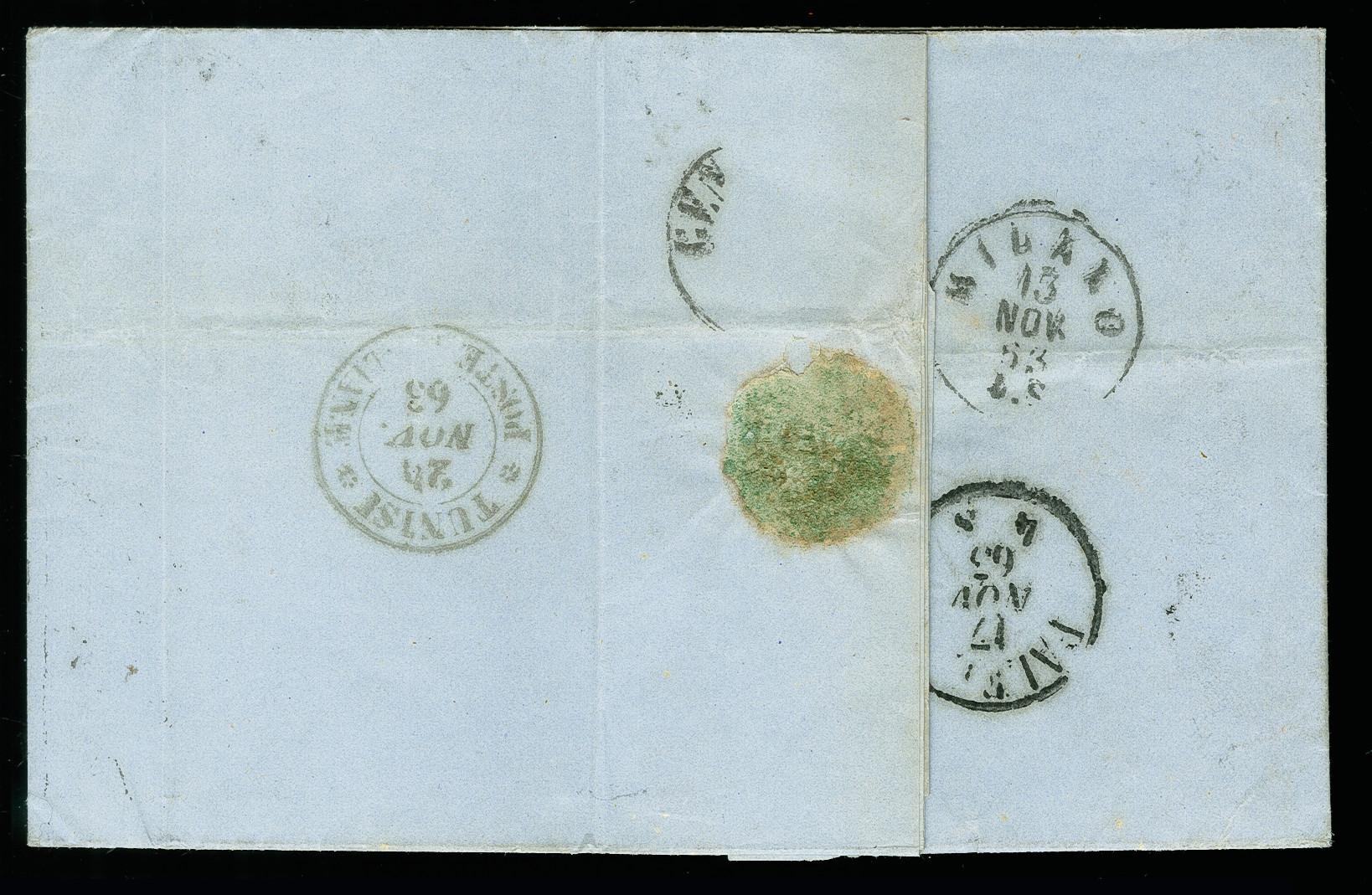 Lot 1715 - europa italian post offices abroad -  Heinrich Koehler Auktionen 375rd Heinrich Köhler auction - Day 1