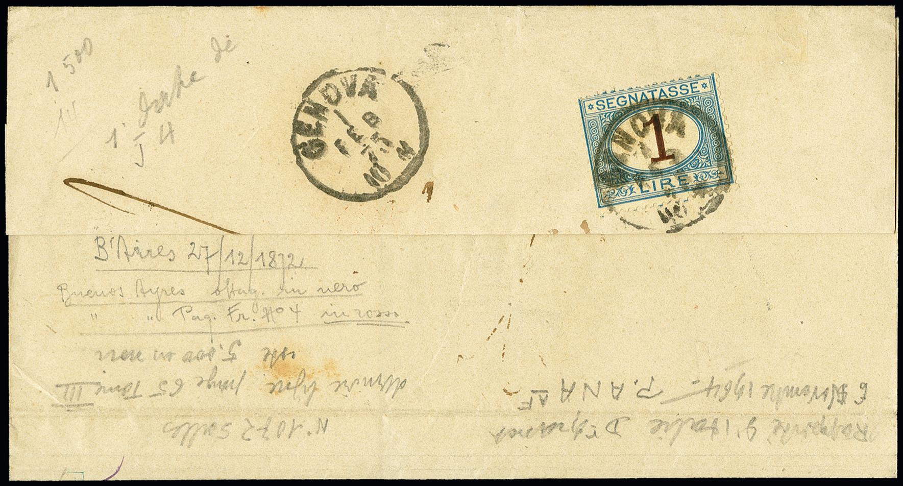 Lot 1523 - übersee Argentina -  Heinrich Koehler Auktionen 375rd Heinrich Köhler auction - Day 1