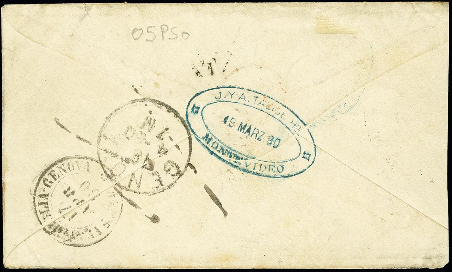Lot 1633 - übersee Uruguay -  Heinrich Koehler Auktionen 375rd Heinrich Köhler auction - Day 1