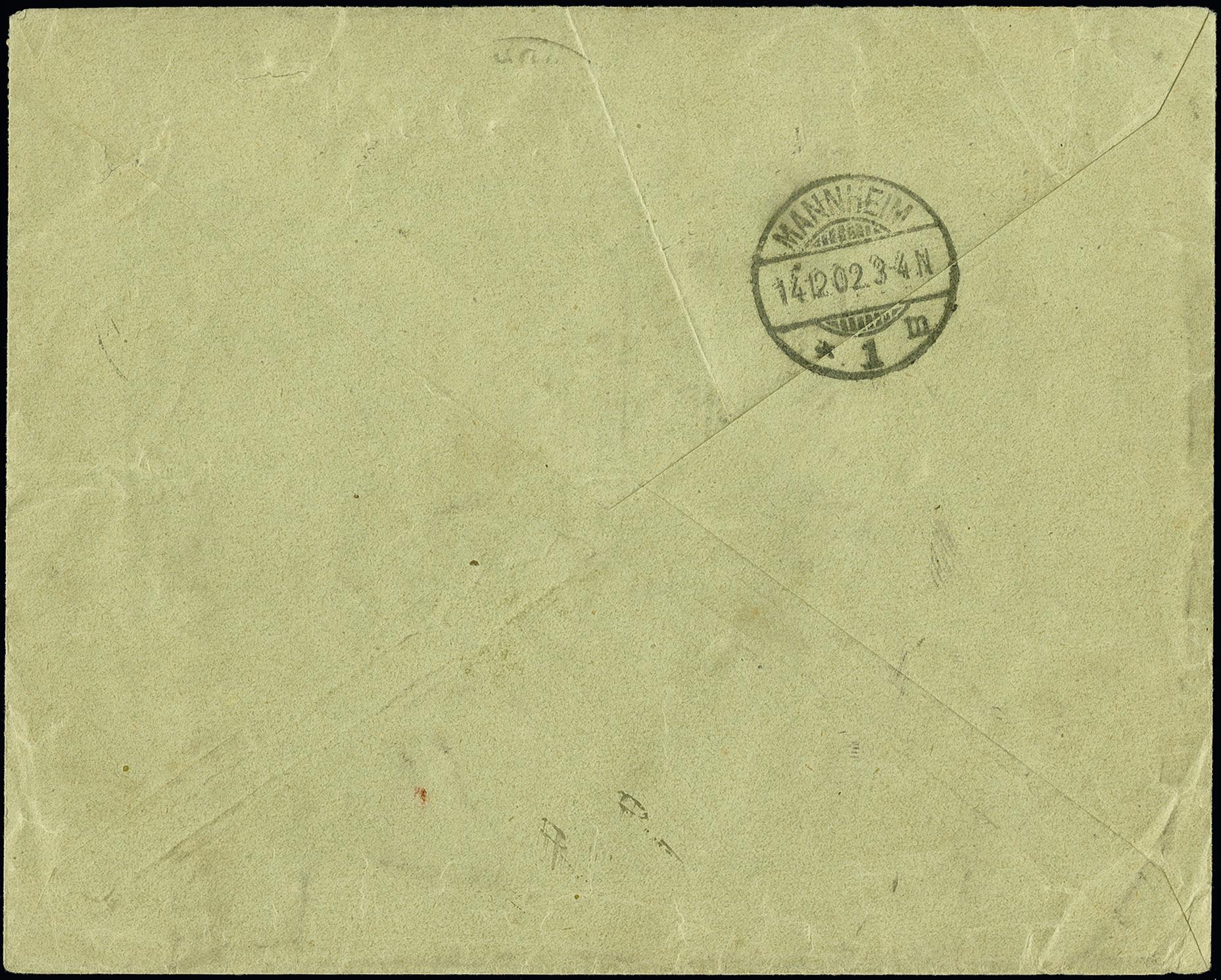 Lot 2902 - deutsche auslandspostämter und kolonien german south-west africa -  Heinrich Koehler Auktionen 375rd Heinrich Köhler auction - Day 2