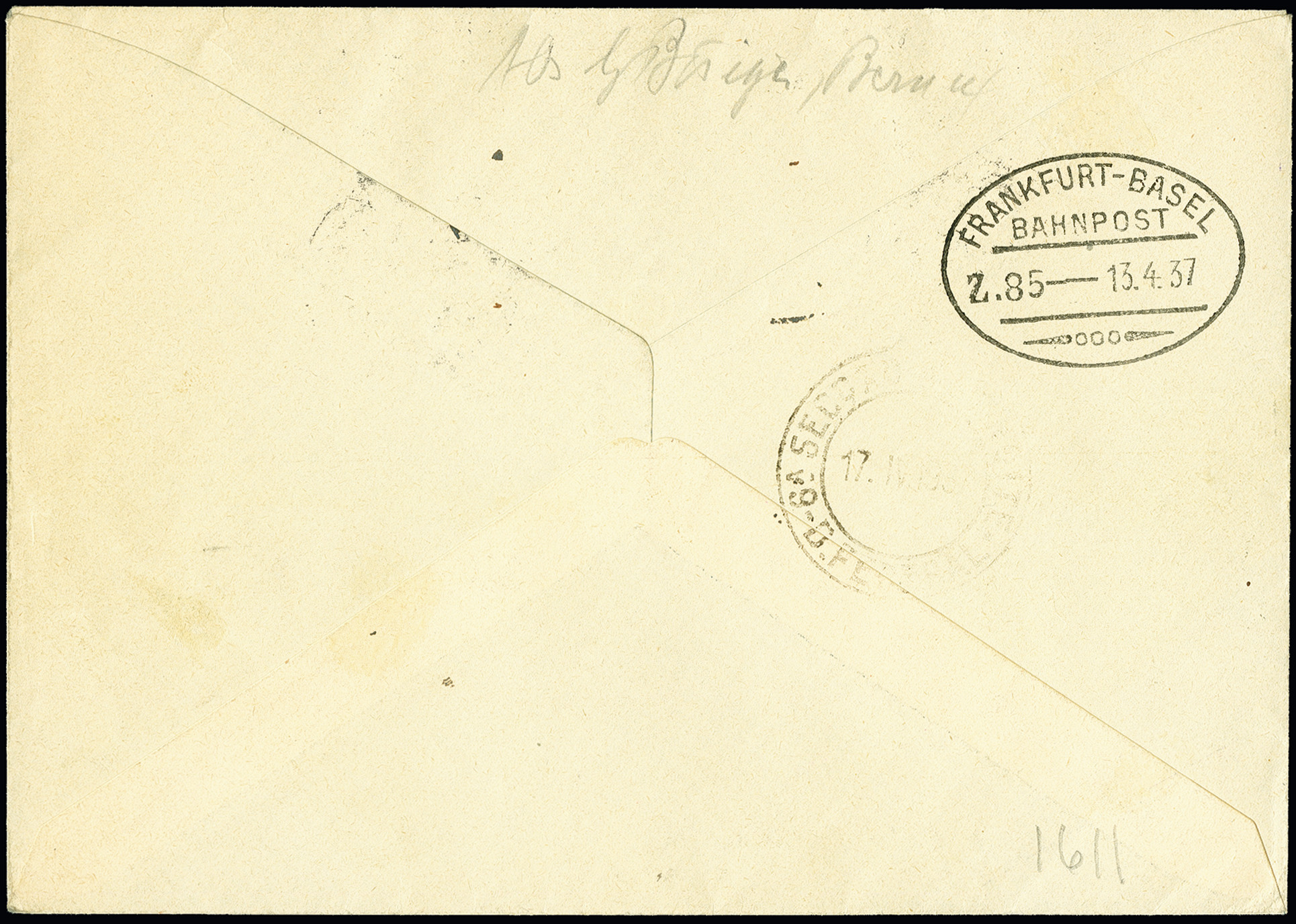 Lot 1130 - schweiz swiss federal post -  Heinrich Koehler Auktionen 375rd Heinrich Köhler auction - Day 1