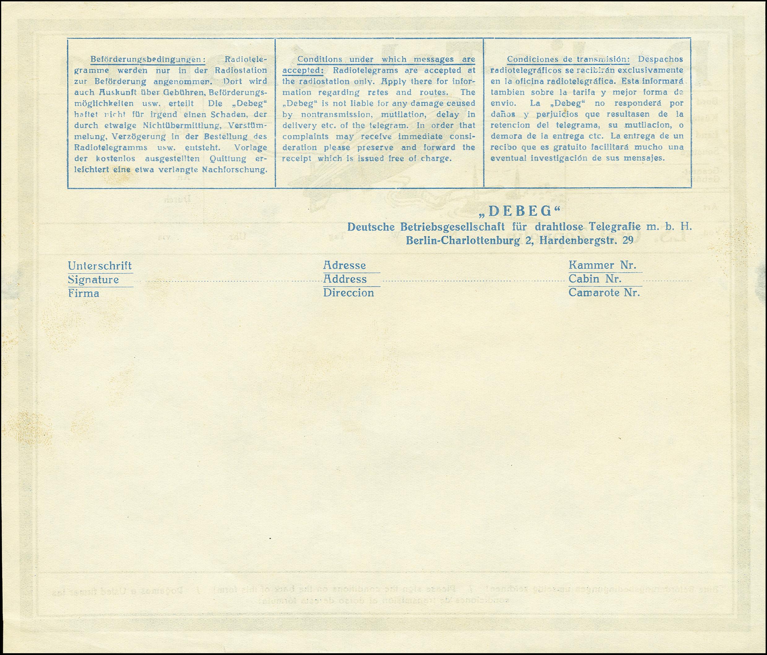 Lot 2298 - luftpost zeppelin -  Heinrich Koehler Auktionen 375rd Heinrich Köhler auction - Day 1