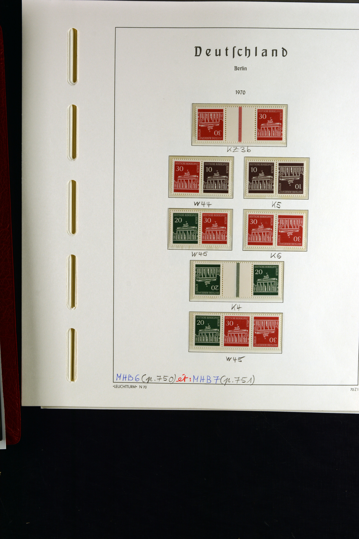 Lot 11526 - deutschland nach 1945 bund und berlin -  Heinrich Koehler Auktionen 375rd Heinrich Köhler auction - Day 4