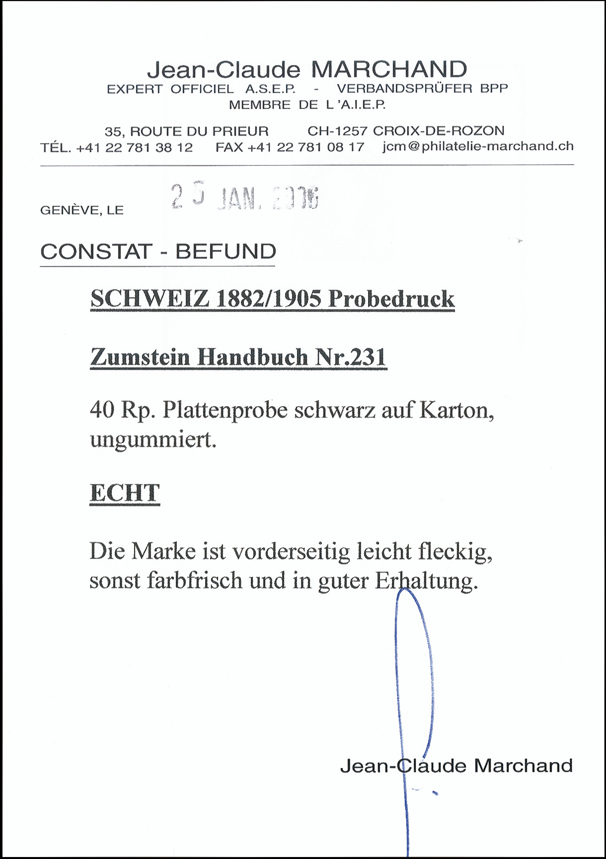 Lot 1029 - Switzerland swiss federal post -  Heinrich Koehler Auktionen Heinrich Köhler Auction 376 - Day 1