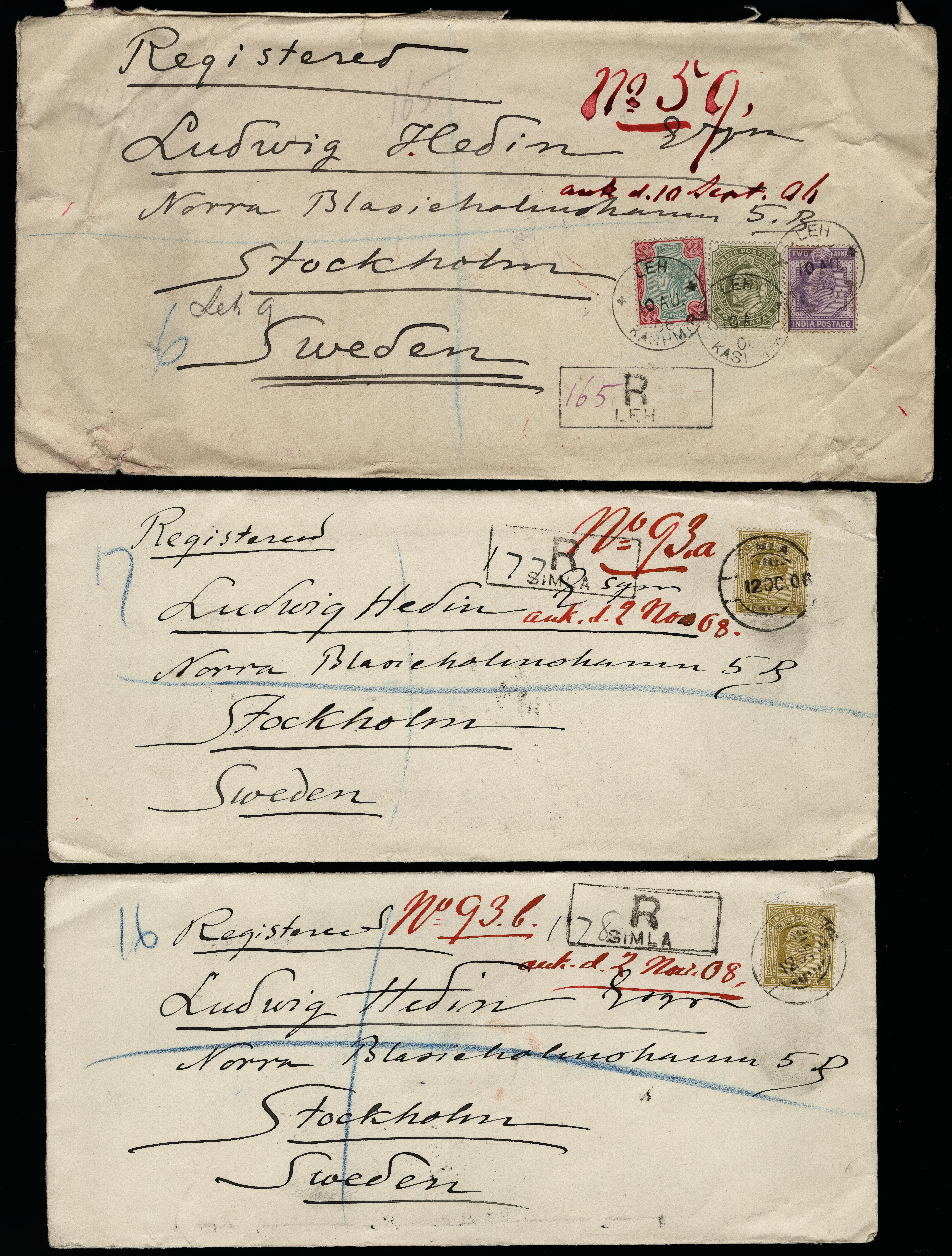 Lot 5164 - British Commonwealth india -  Heinrich Koehler Auktionen Heinrich Köhler Auction 376 - Day 1