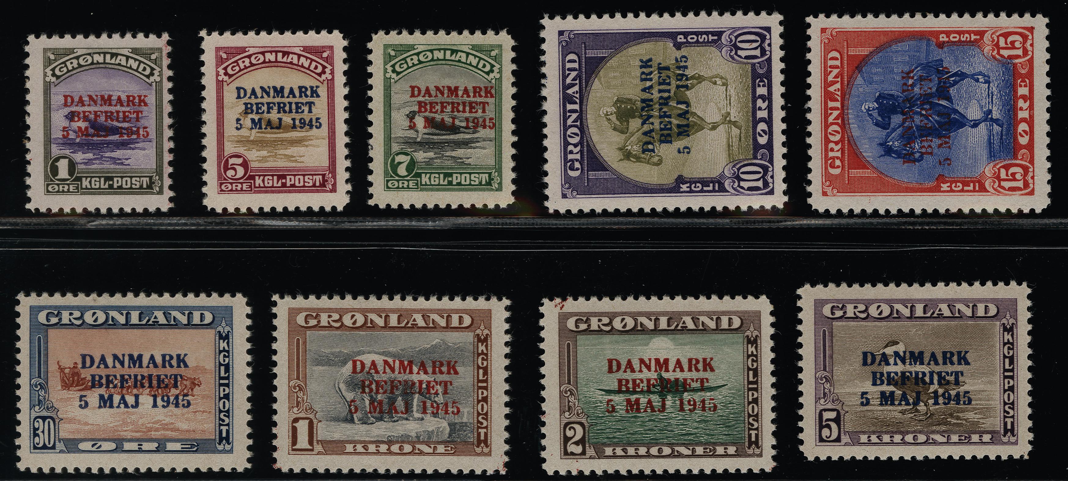 Lot 1135 - Greenland Greenland - Danish Post -  Heinrich Koehler Auktionen Heinrich Köhler Auction 376 - Day 1