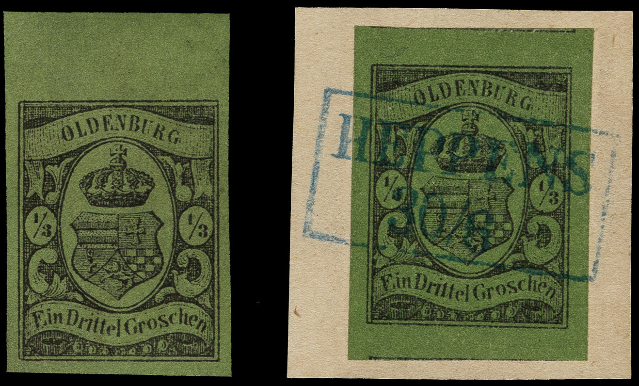 Lot 3430 - german states oldenburg -  Heinrich Koehler Auktionen Heinrich Köhler Auction 376 - Day 5