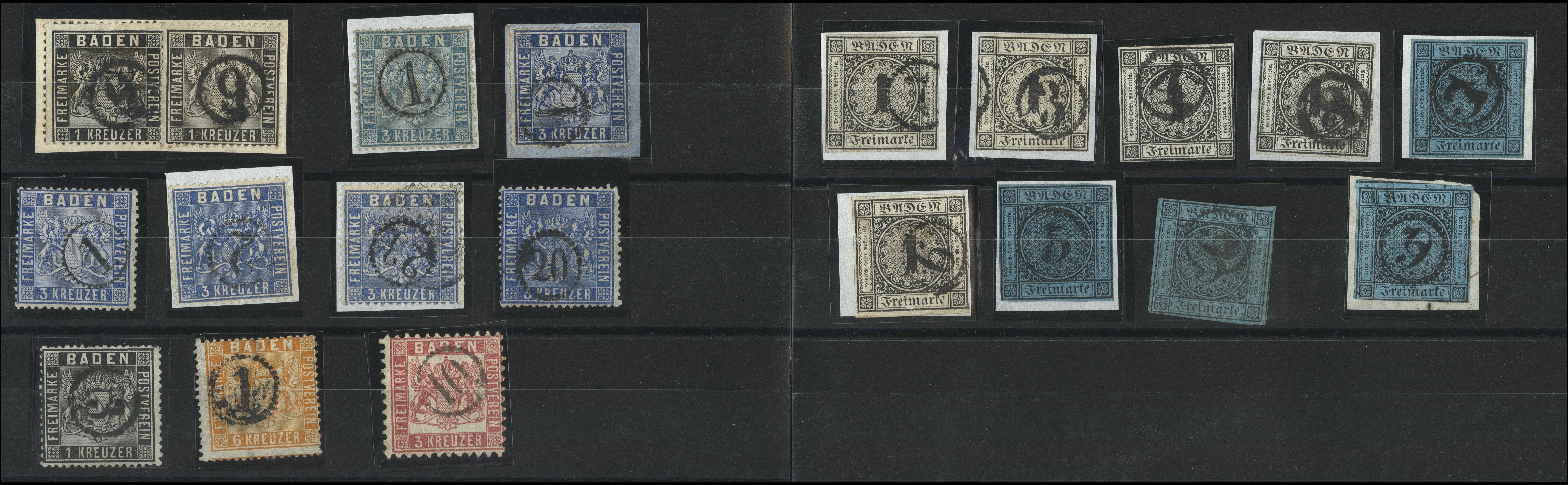 Lot 10516 - german states Baden -  Heinrich Koehler Auktionen Heinrich Köhler Auction 376 - Day 3