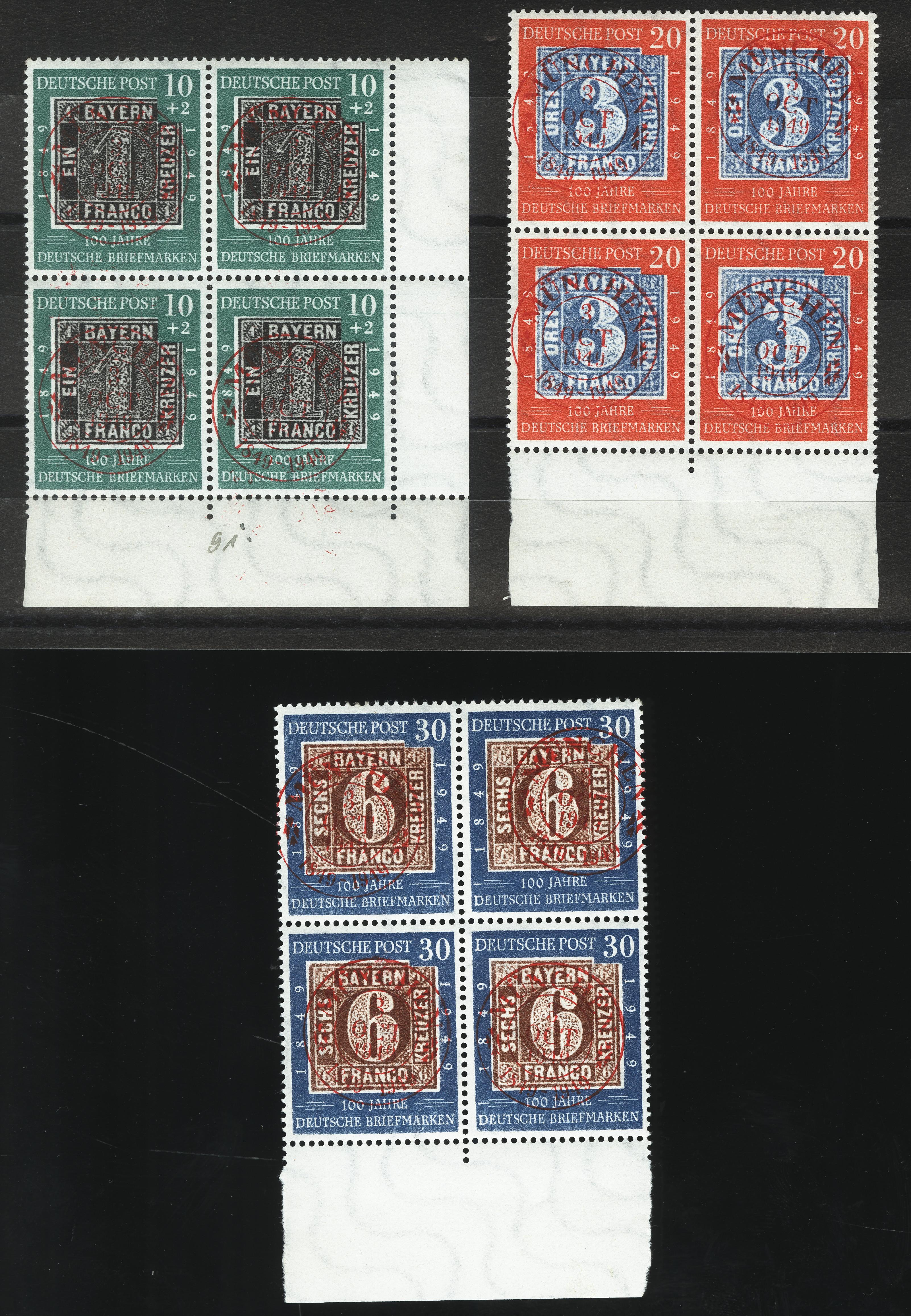 Lot 2808 - germany after 1945 federal republic of germany -  Heinrich Koehler Auktionen Heinrich Köhler Auction 376 - Day 1