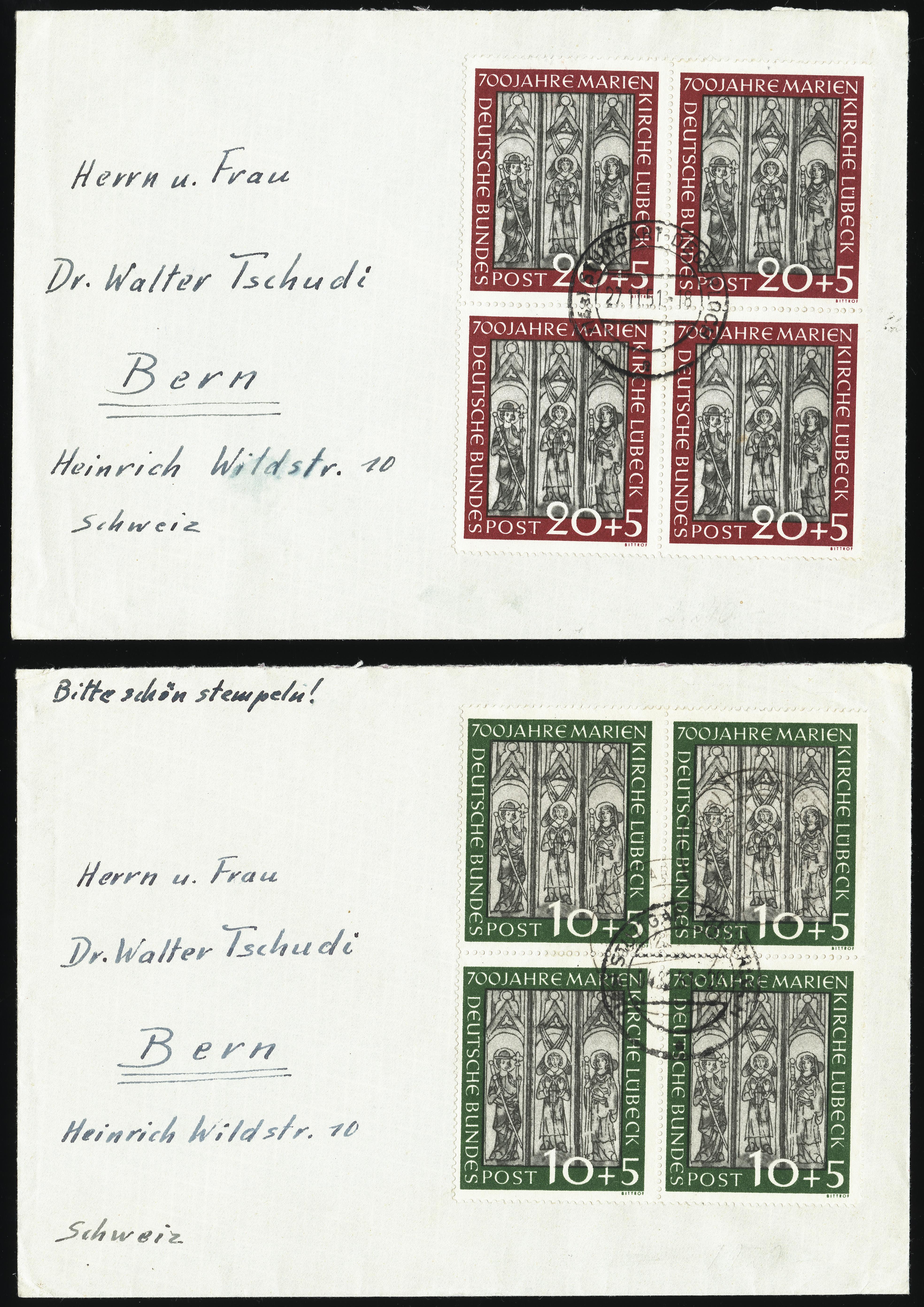 Lot 2847 - germany after 1945 federal republic of germany -  Heinrich Koehler Auktionen Heinrich Köhler Auction 376 - Day 1