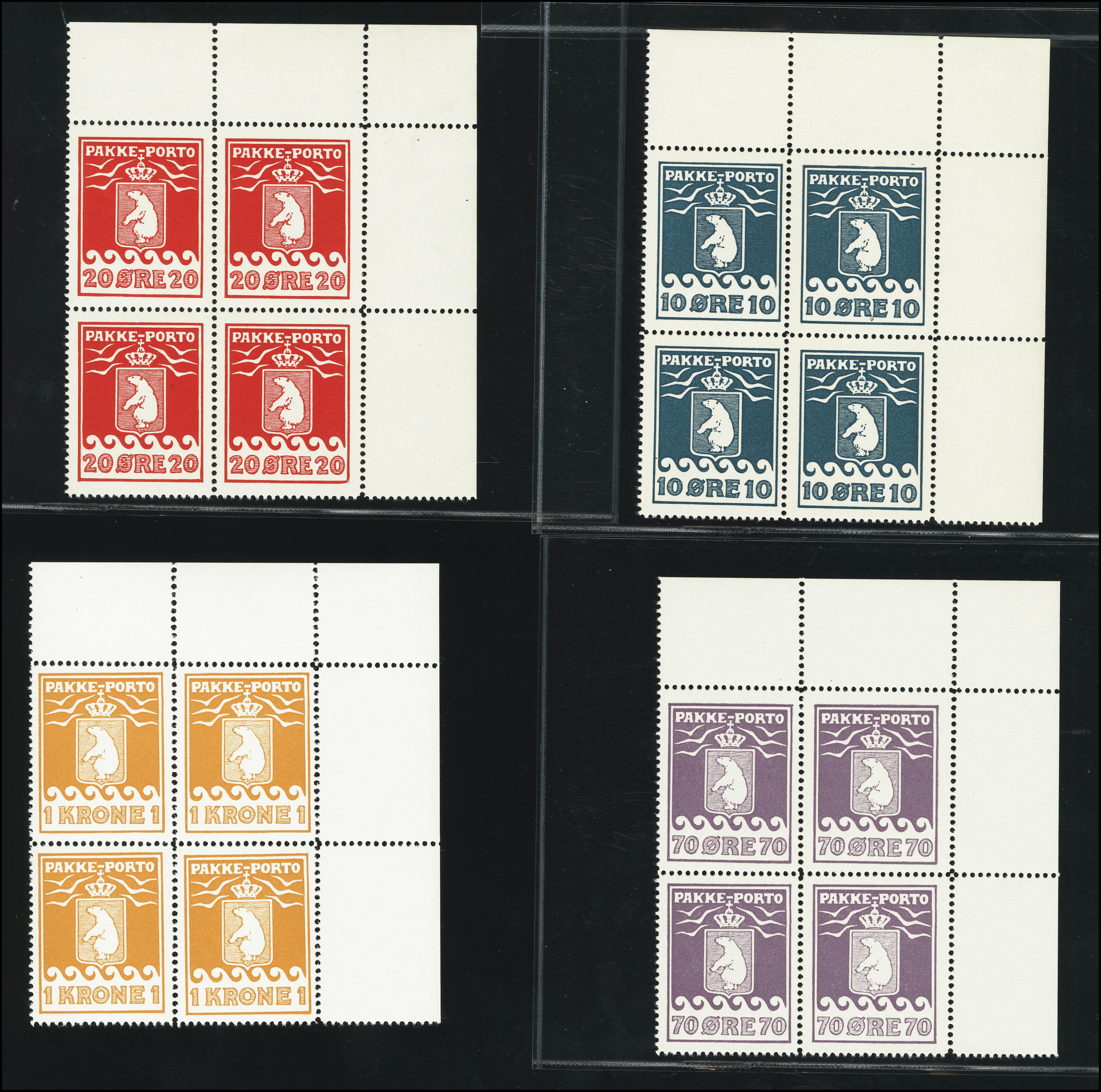Lot 1133 - Greenland Greenland - Pakke Porto -  Heinrich Koehler Auktionen Heinrich Köhler Auction 376 - Day 1
