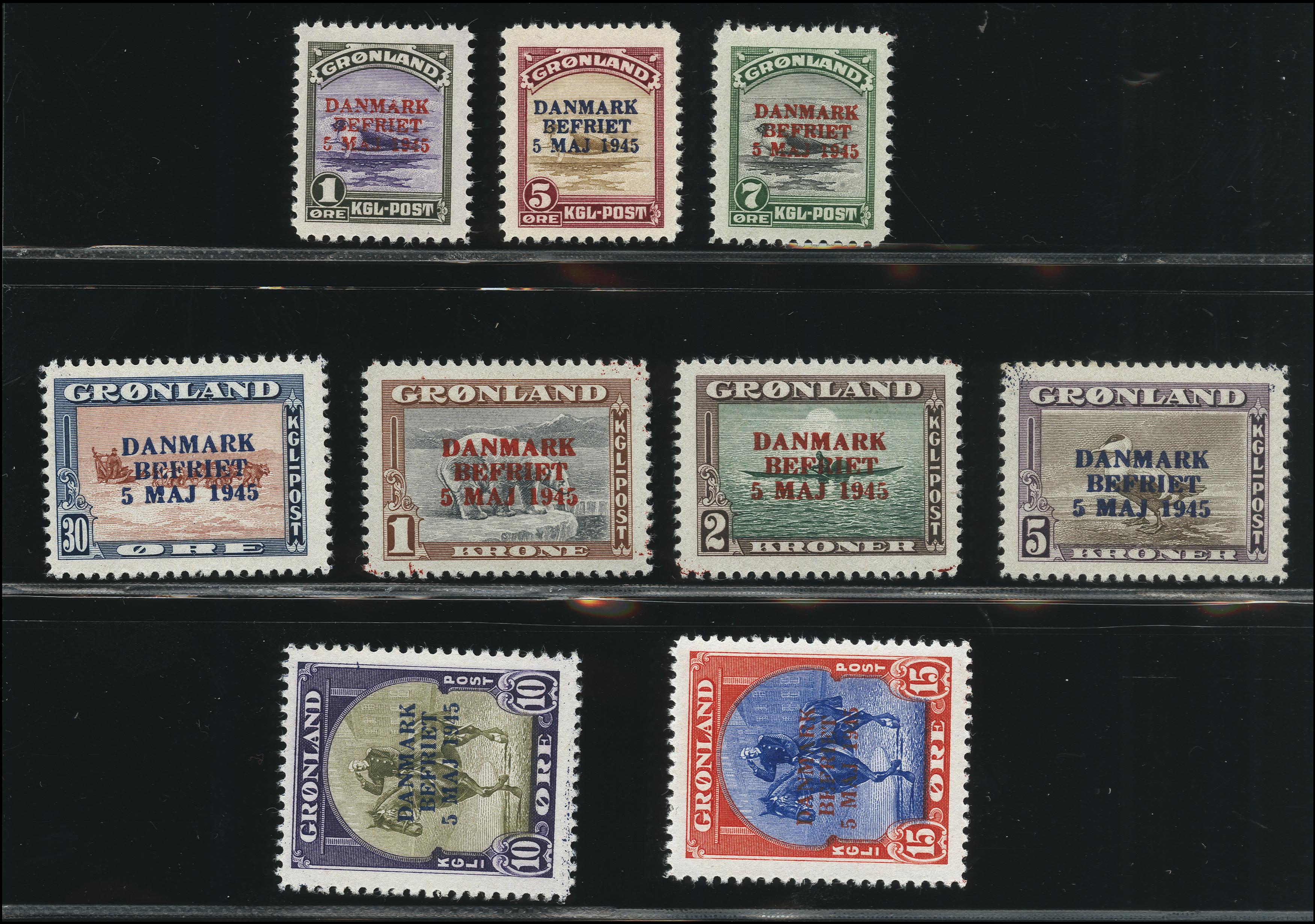 Lot 1136 - Greenland Greenland - Danish Post -  Heinrich Koehler Auktionen Heinrich Köhler Auction 376 - Day 1