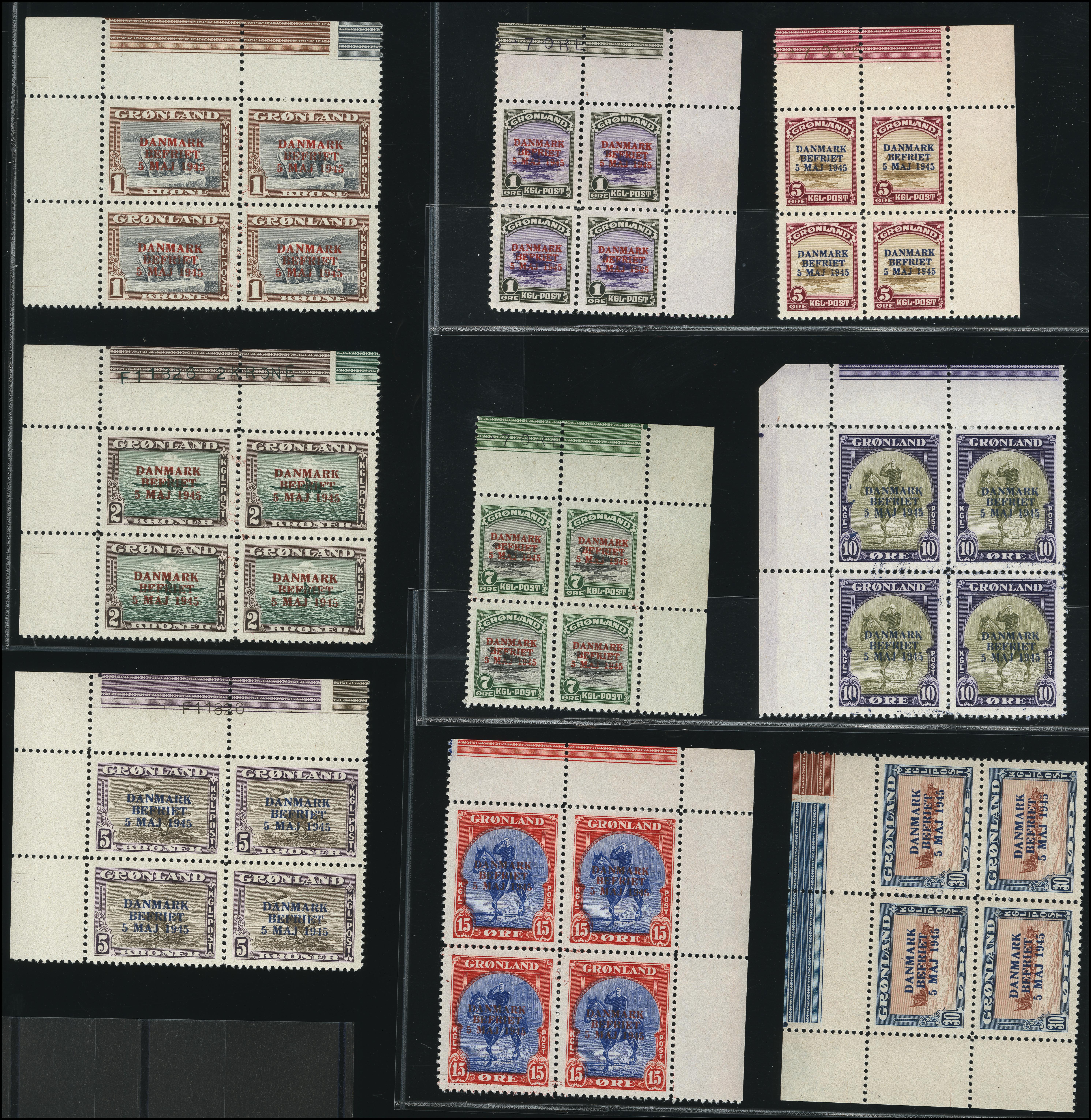 Lot 1137 - Greenland Greenland - Danish Post -  Heinrich Koehler Auktionen Heinrich Köhler Auction 376 - Day 1