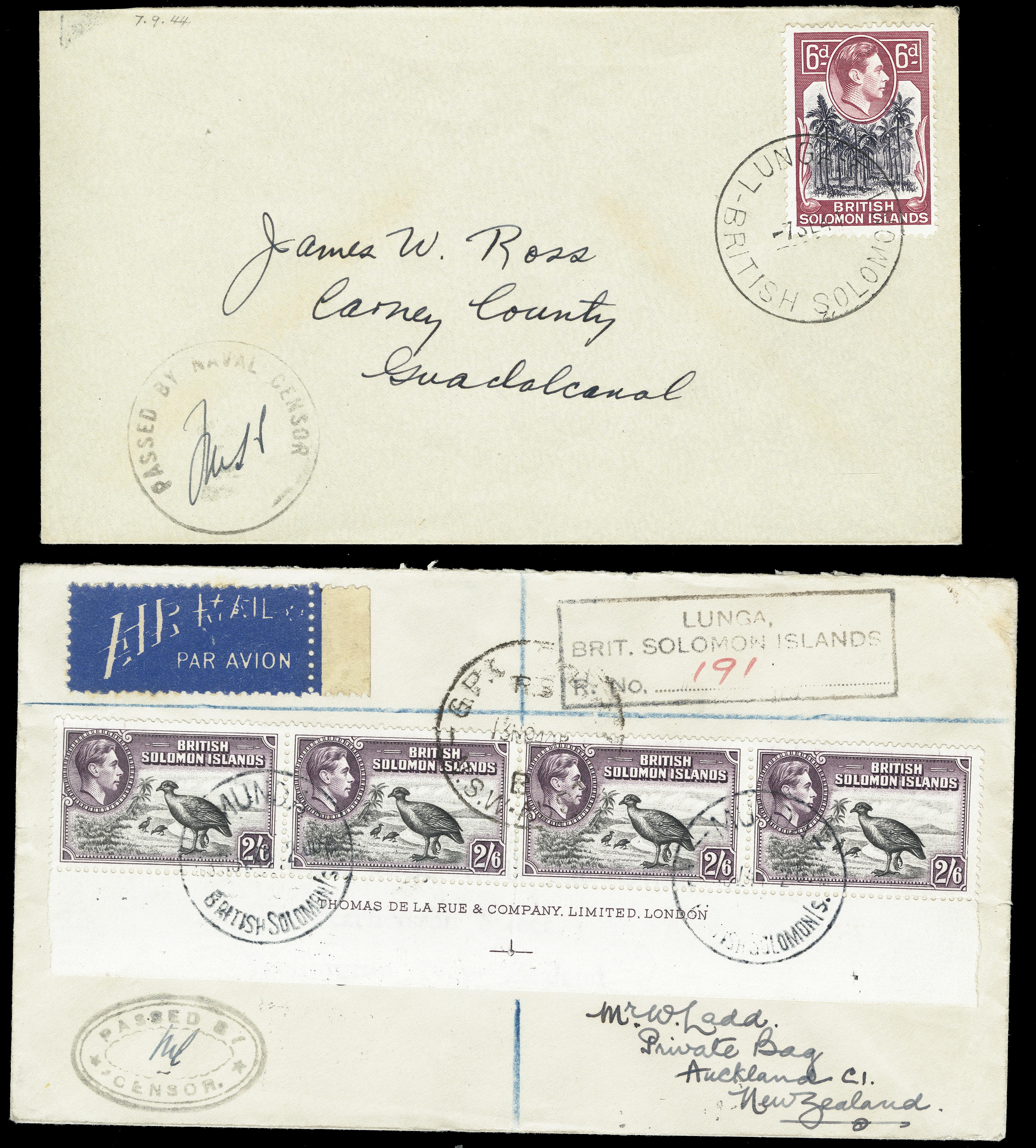 Lot 1382 - British Commonwealth british solomon islands -  Heinrich Koehler Auktionen Heinrich Köhler Auction 376 - Day 1