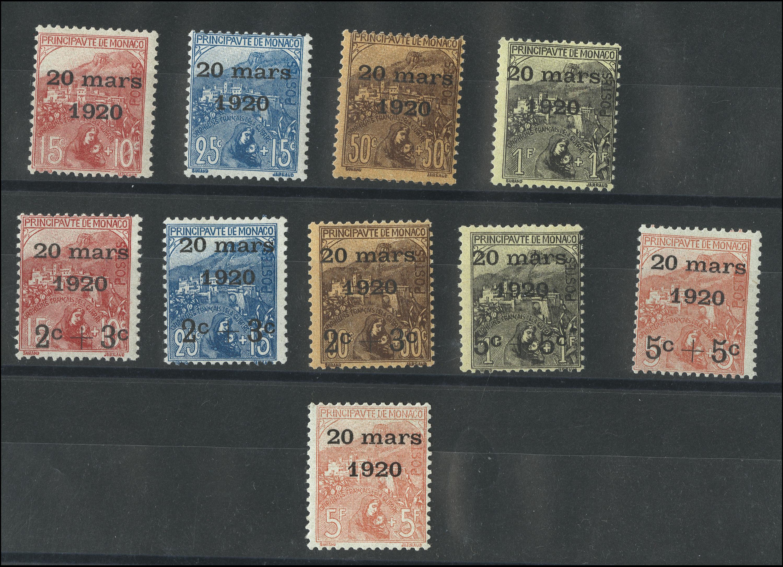 Lot 1720 - europe Monaco -  Heinrich Koehler Auktionen Heinrich Köhler Auction 376 - Day 2