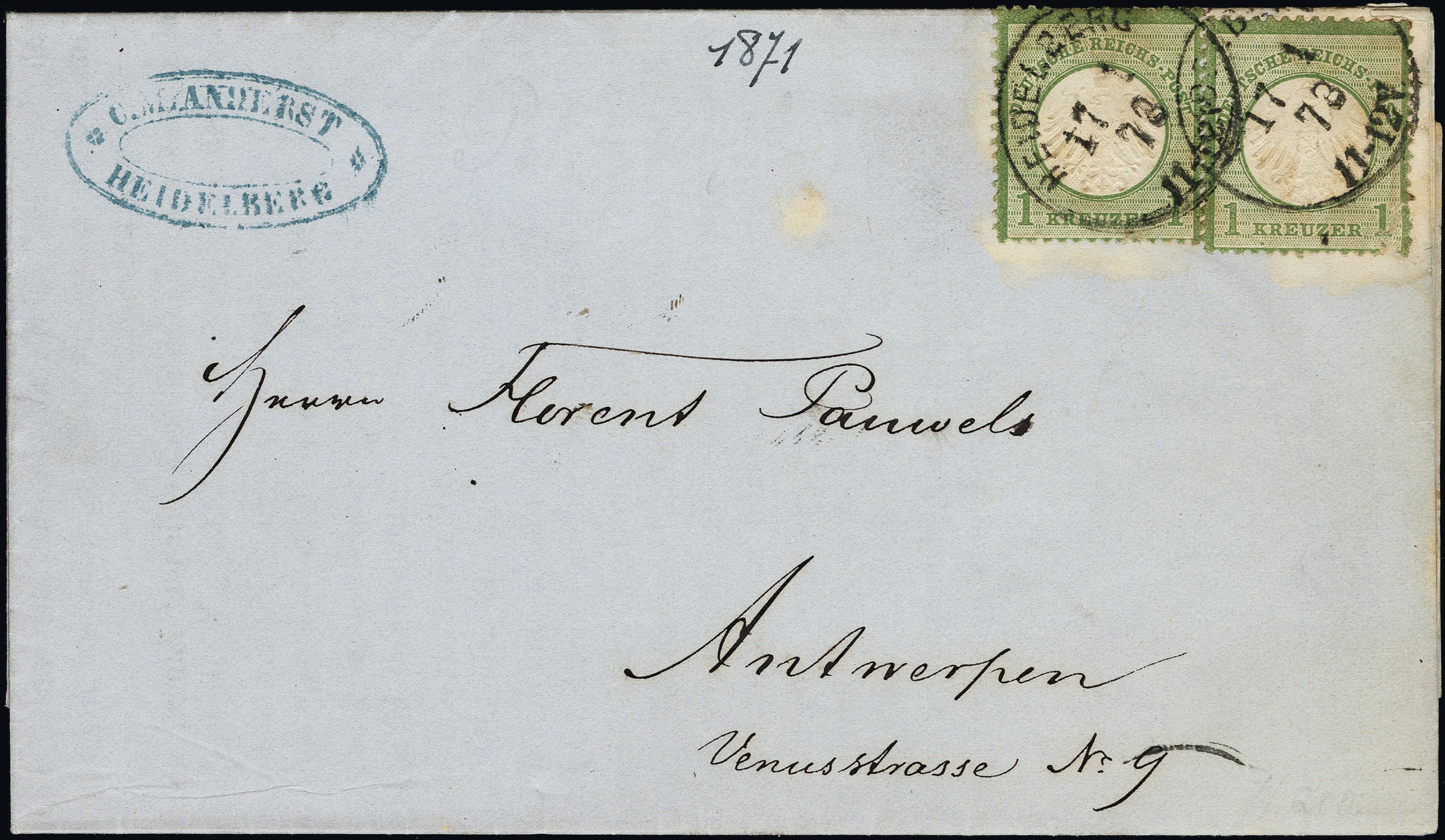 Lot 6071 - Main catalogue German Empire -  Heinrich Koehler Auktionen Heinrich Köhler Auction 376 - Day 4