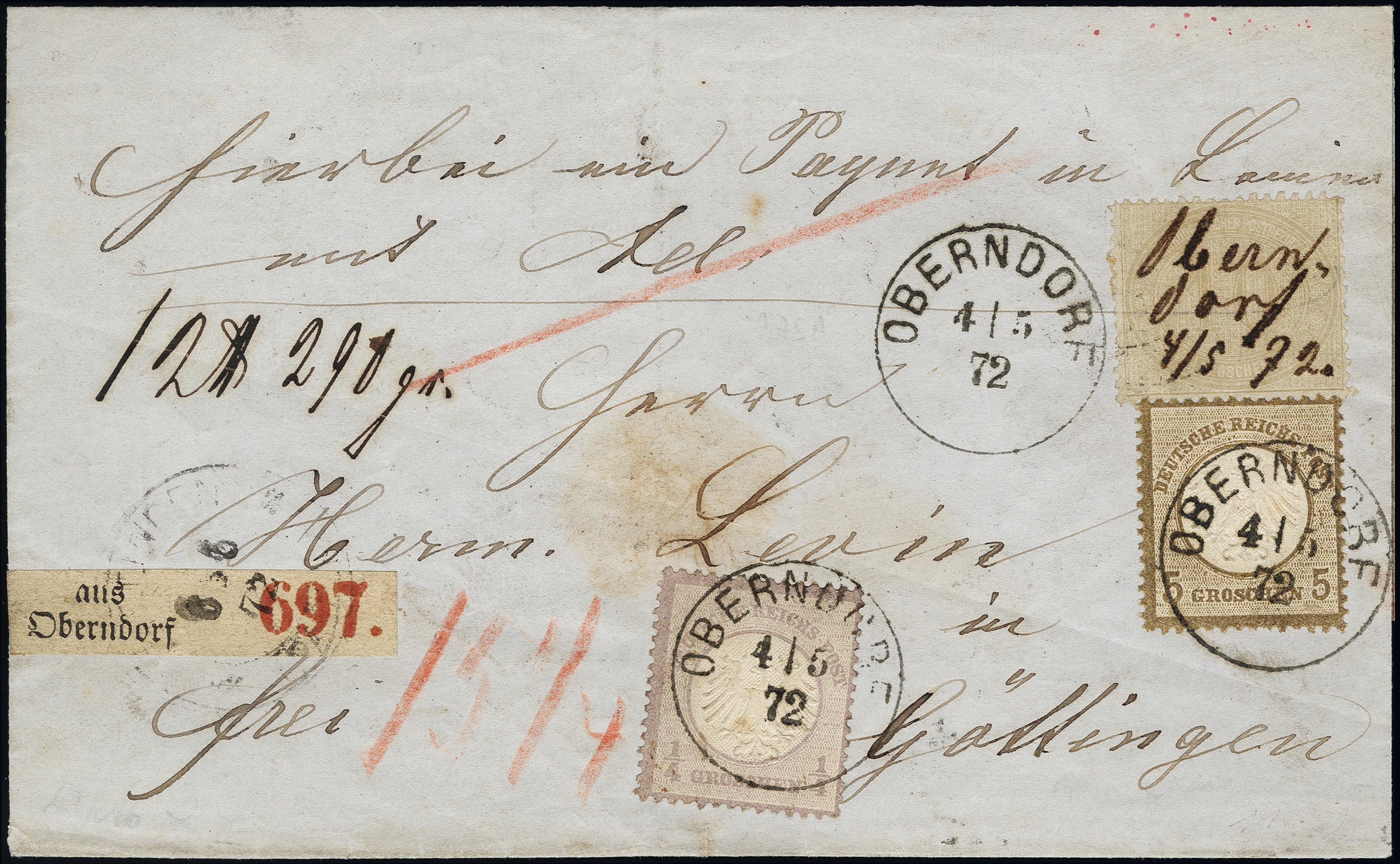 Lot 6016 - Main catalogue German Empire -  Heinrich Koehler Auktionen Heinrich Köhler Auction 376 - Day 4