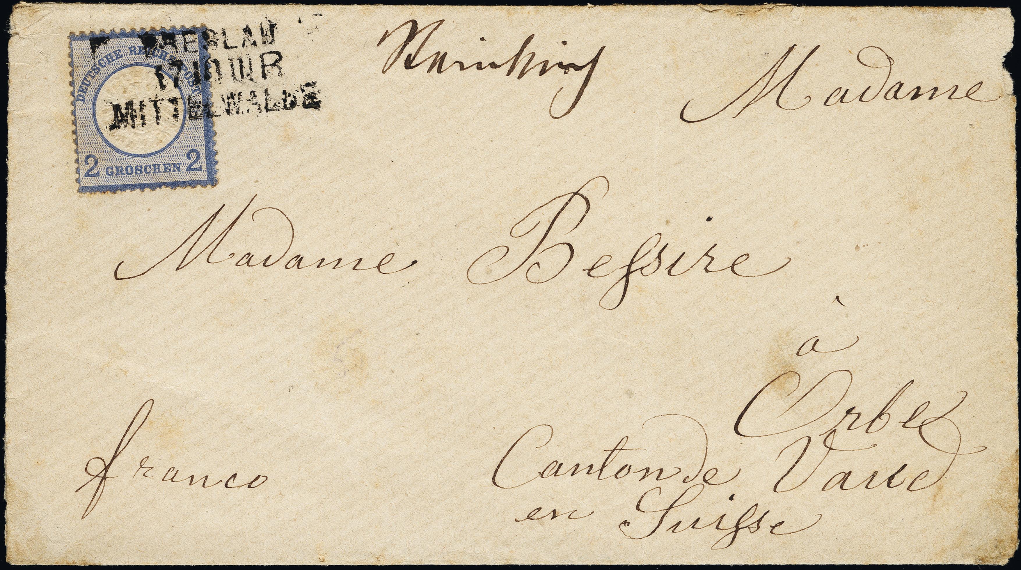 Lot 6203 - Main catalogue German Empire -  Heinrich Koehler Auktionen Heinrich Köhler Auction 376 - Day 4