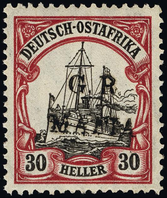 Lot 1387 - British Commonwealth tanganyika -  Heinrich Koehler Auktionen Heinrich Köhler Auction 376 - Day 1