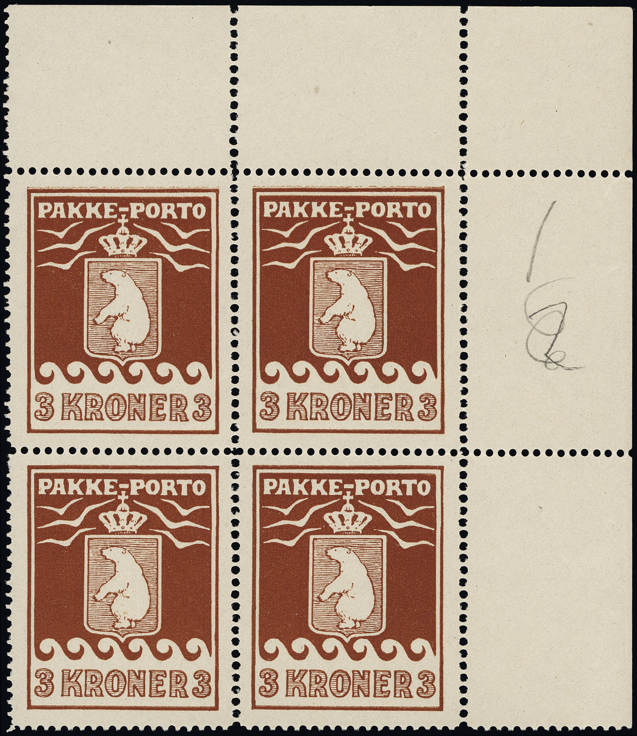 Lot 1134 - Greenland Greenland - Pakke Porto -  Heinrich Koehler Auktionen Heinrich Köhler Auction 376 - Day 1