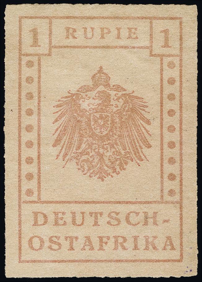 Lot 3104 - german east africa German East Africa - WUGA -  Heinrich Koehler Auktionen Heinrich Köhler Auction 376 - Day 4
