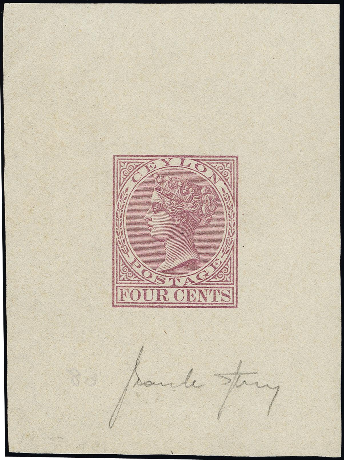 Lot 1335 - British Commonwealth Ceylon -  Heinrich Koehler Auktionen Heinrich Köhler Auction 376 - Day 1