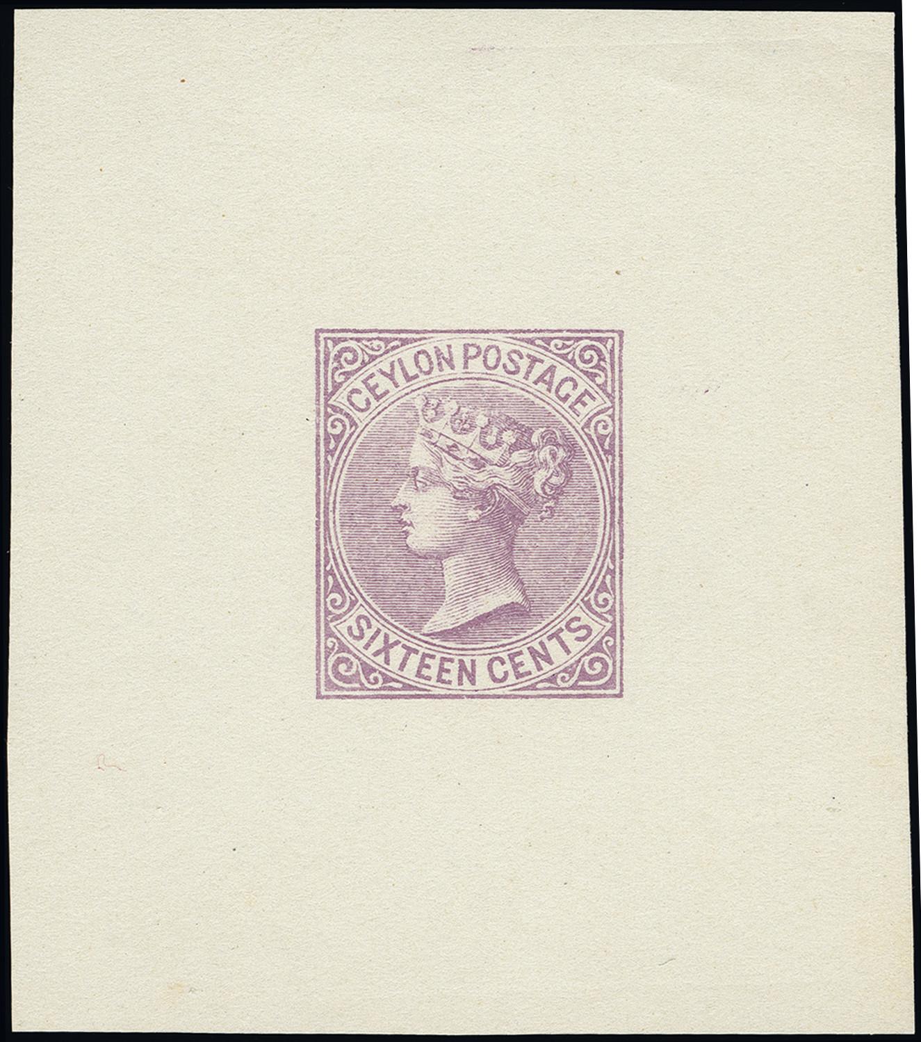 Lot 1336 - British Commonwealth Ceylon -  Heinrich Koehler Auktionen Heinrich Köhler Auction 376 - Day 1