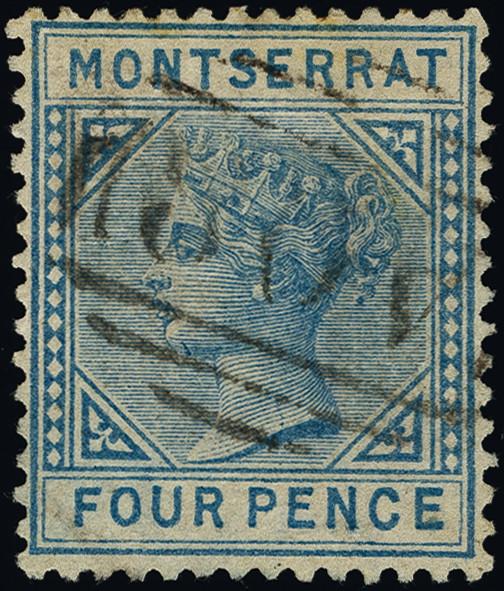 Lot 1358 - British Commonwealth montserrat -  Heinrich Koehler Auktionen Heinrich Köhler Auction 376 - Day 1
