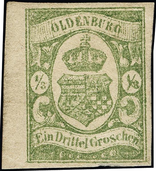 Lot 3432 - german states oldenburg -  Heinrich Koehler Auktionen Heinrich Köhler Auction 376 - Day 5