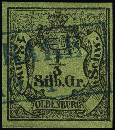 Lot 3429 - german states oldenburg -  Heinrich Koehler Auktionen Heinrich Köhler Auction 376 - Day 5