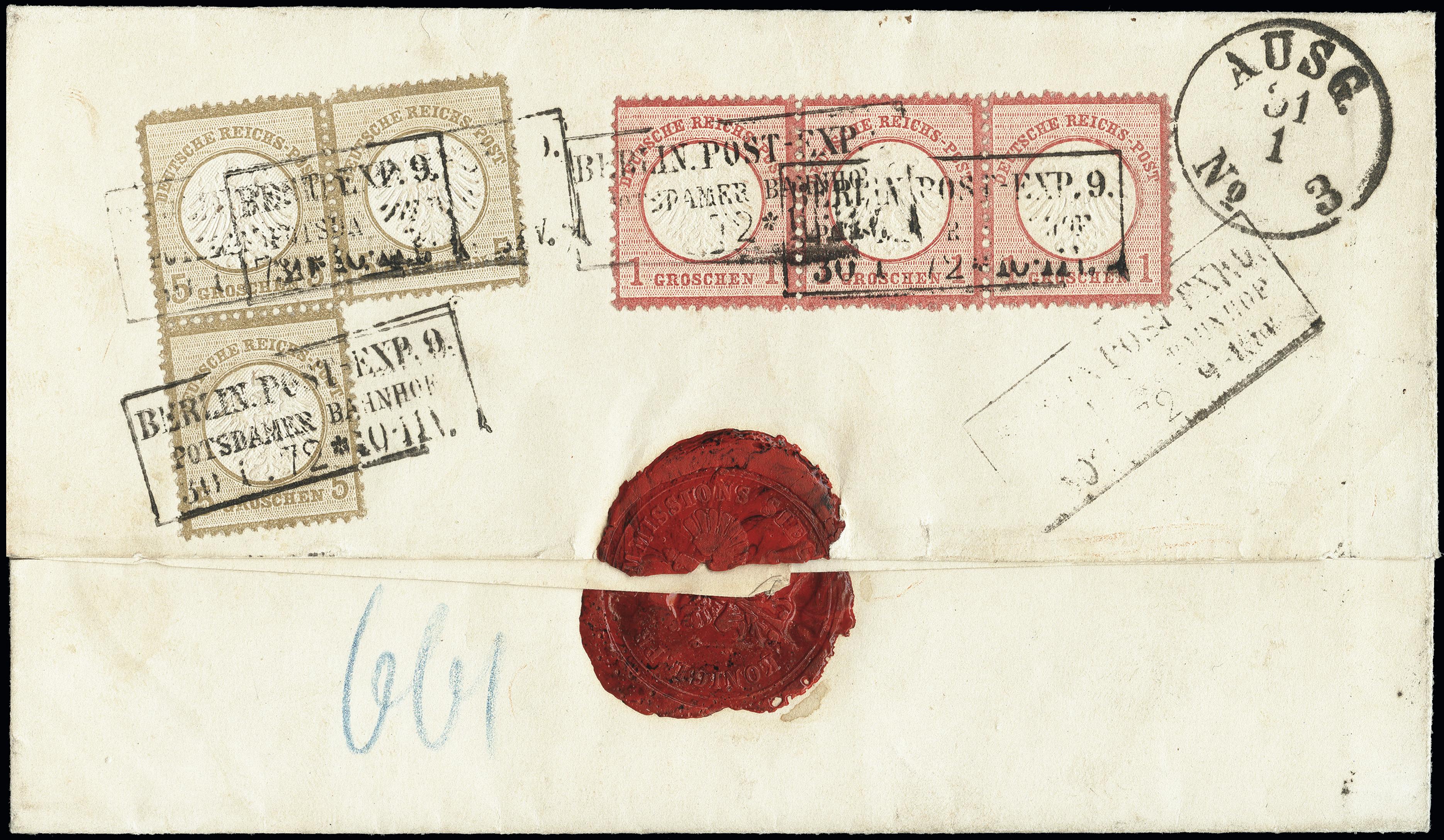Lot 2900 - Main catalogue German Empire -  Heinrich Koehler Auktionen Heinrich Köhler Auction 376 - Day 4