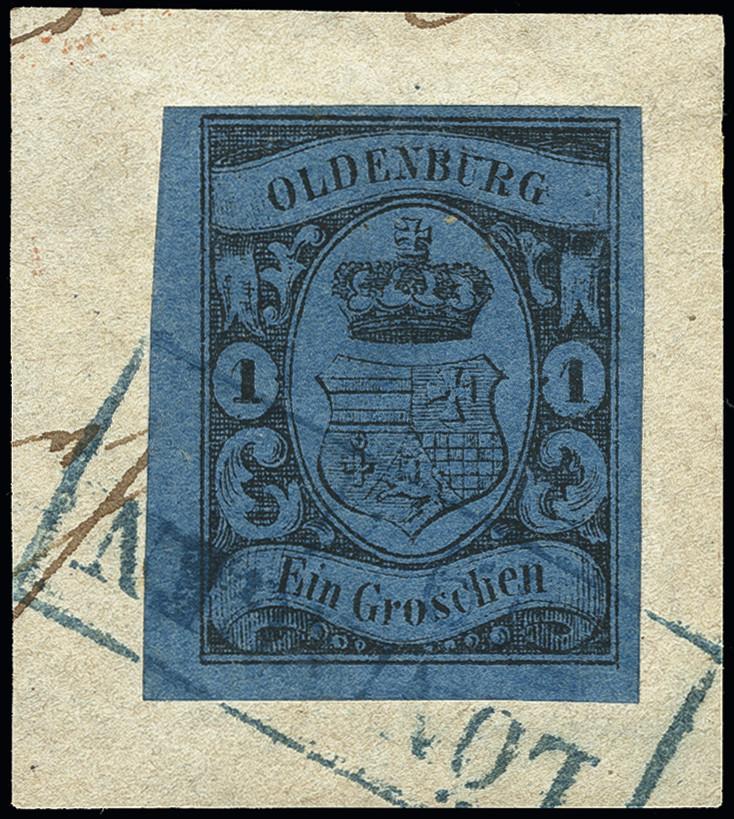 Lot 3431 - german states oldenburg -  Heinrich Koehler Auktionen Heinrich Köhler Auction 376 - Day 5