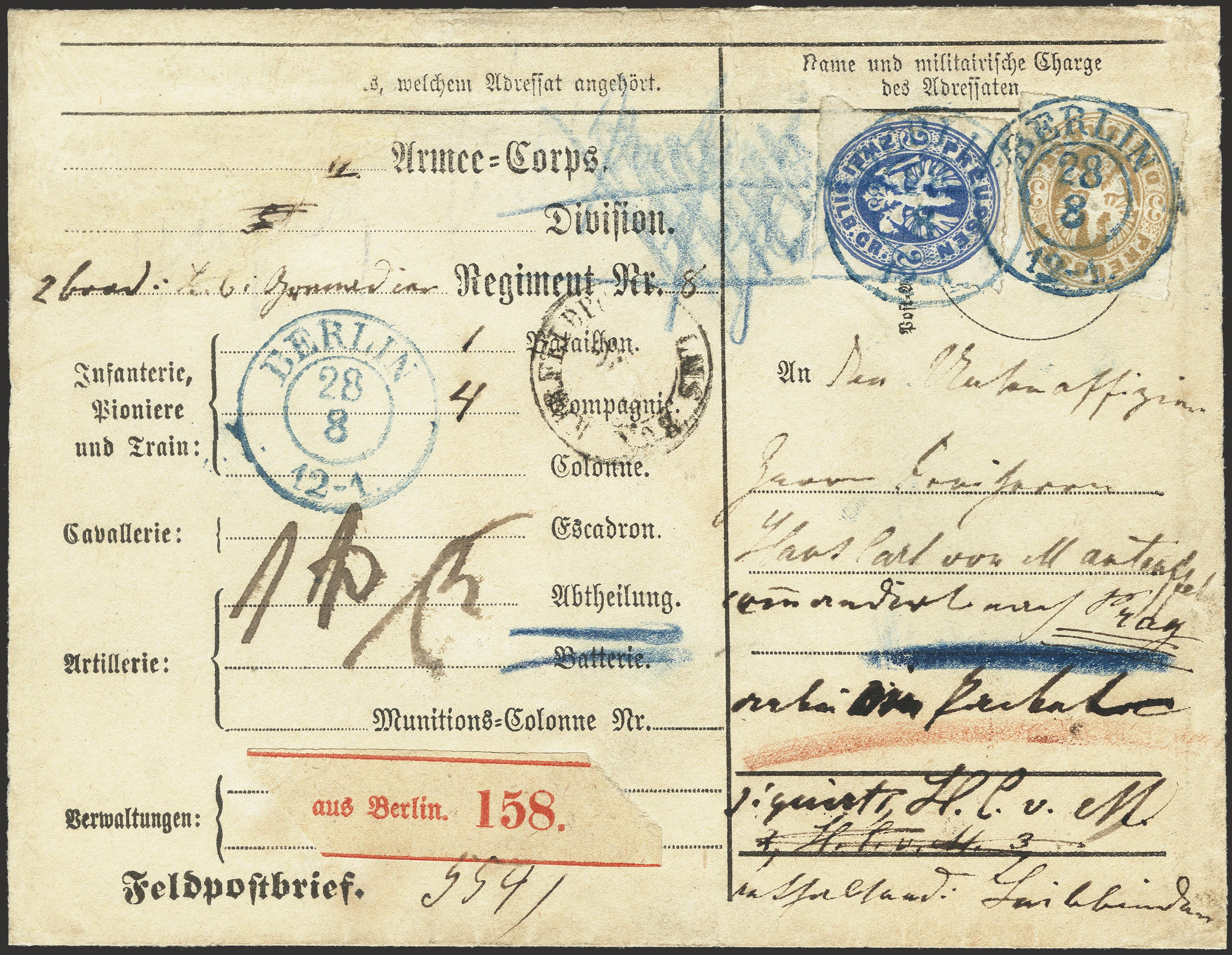 Lot 215 - german states prussia -  Heinrich Koehler Auktionen Heinrich Köhler Auction 376 - Day 6