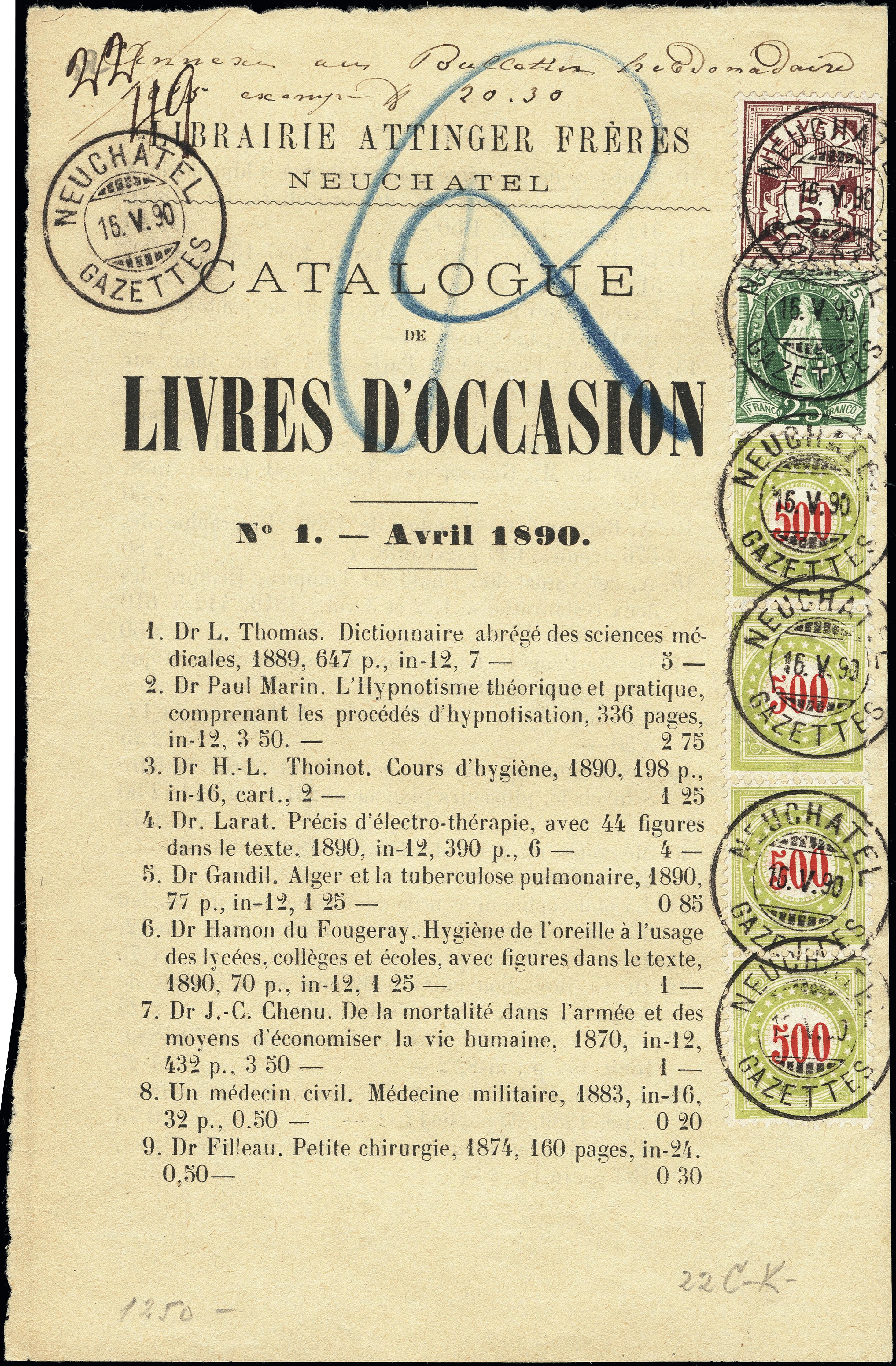 Lot 1037 - Main catalogue Switzerland - postage due -  Heinrich Koehler Auktionen Heinrich Köhler Auction 376 - Day 1