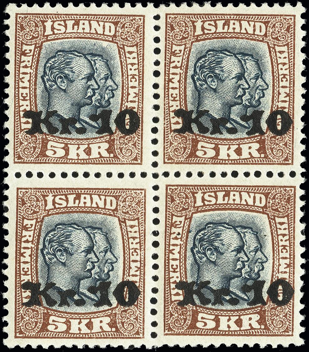 Lot 1485 - europe Iceland -  Heinrich Koehler Auktionen Heinrich Köhler Auction 376 - Day 1