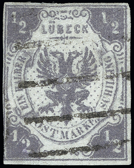 Lot 3415 - german states lübeck -  Heinrich Koehler Auktionen Heinrich Köhler Auction 376 - Day 5